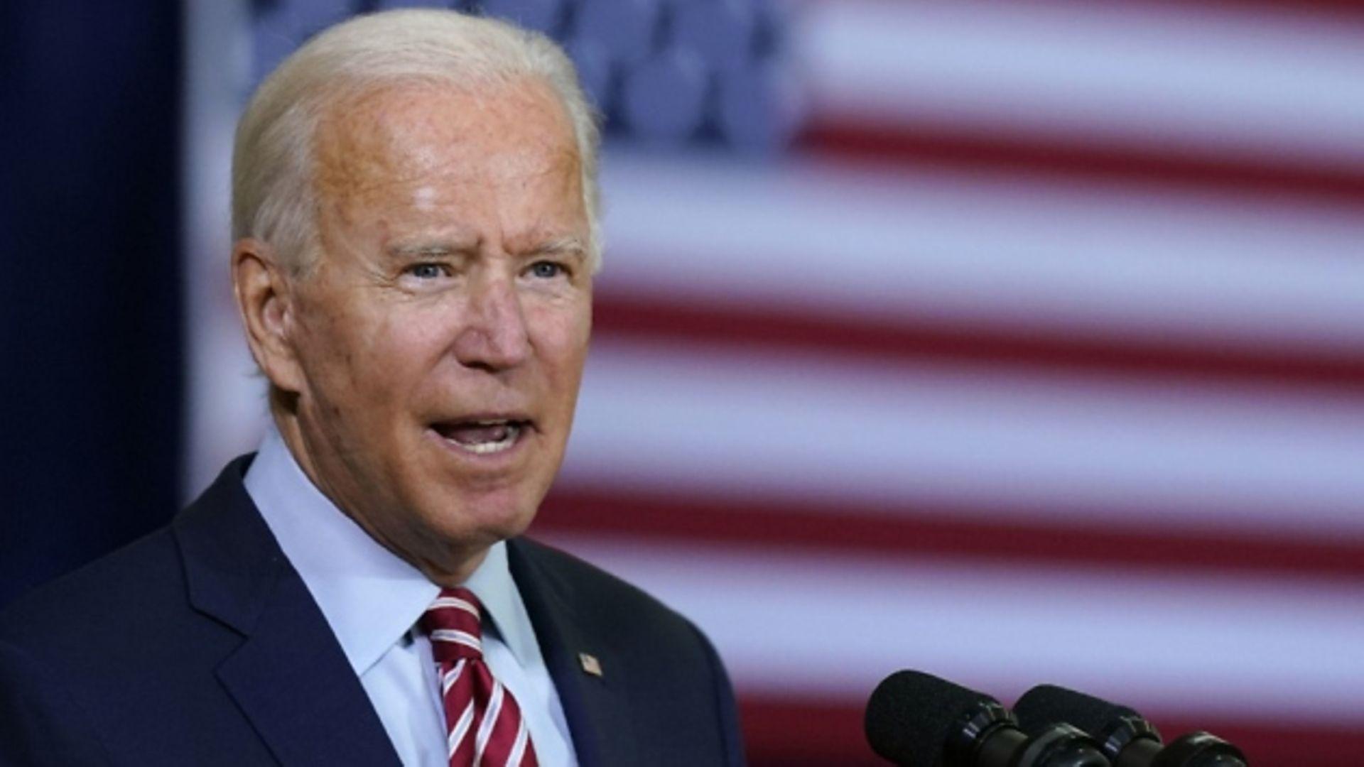 Democrat presidential candidate Joe Biden - Credit: AP Photo/Patrick Semansky