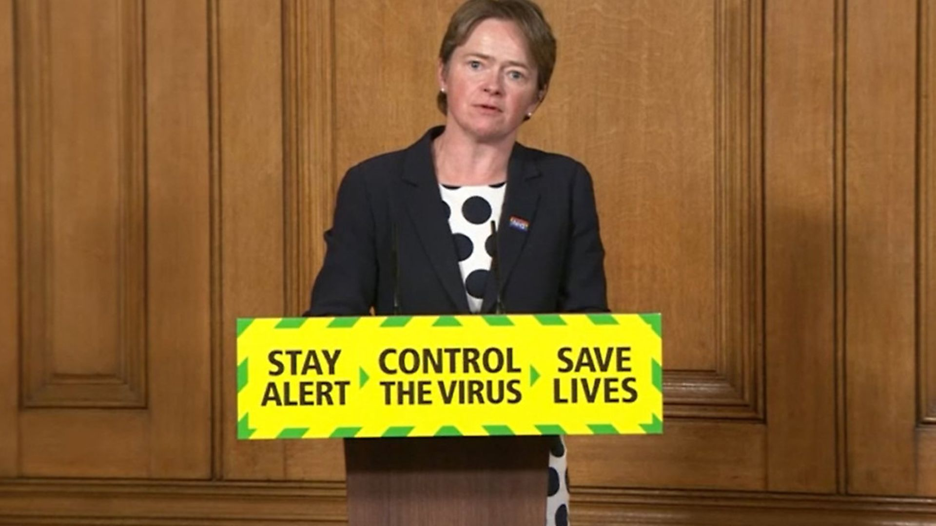 Baroness Dido Harding, executive chairwoman of NHS Test and Trace, during a media briefing in Downing Street, London, on coronavirus (COVID-19). Photograph: PA. - Credit: PA