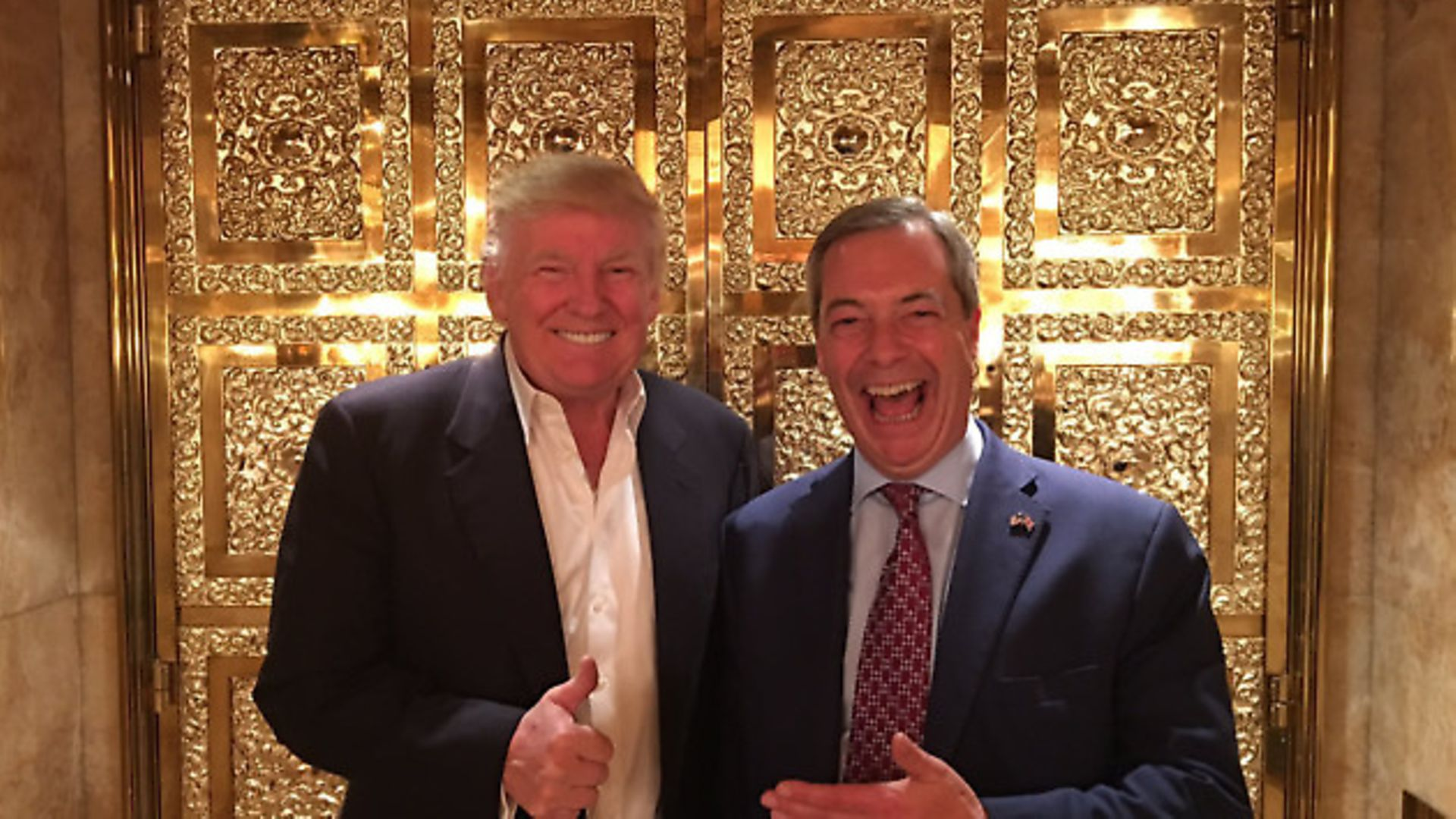 Donald Trump and Nigel Farage - Credit: Archant