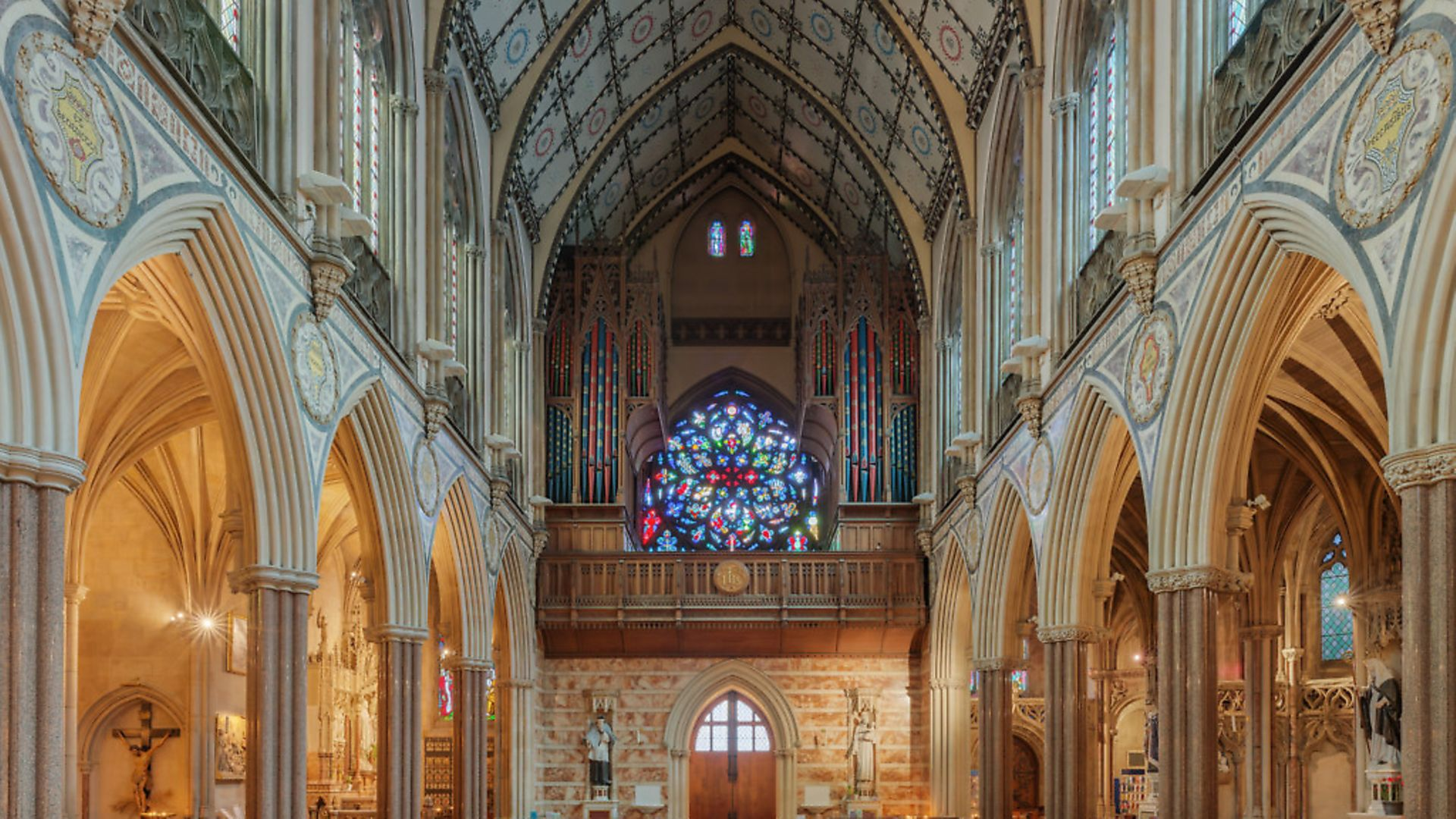 Church of Immaculate Conception, Farm Street, London - Credit: Archant