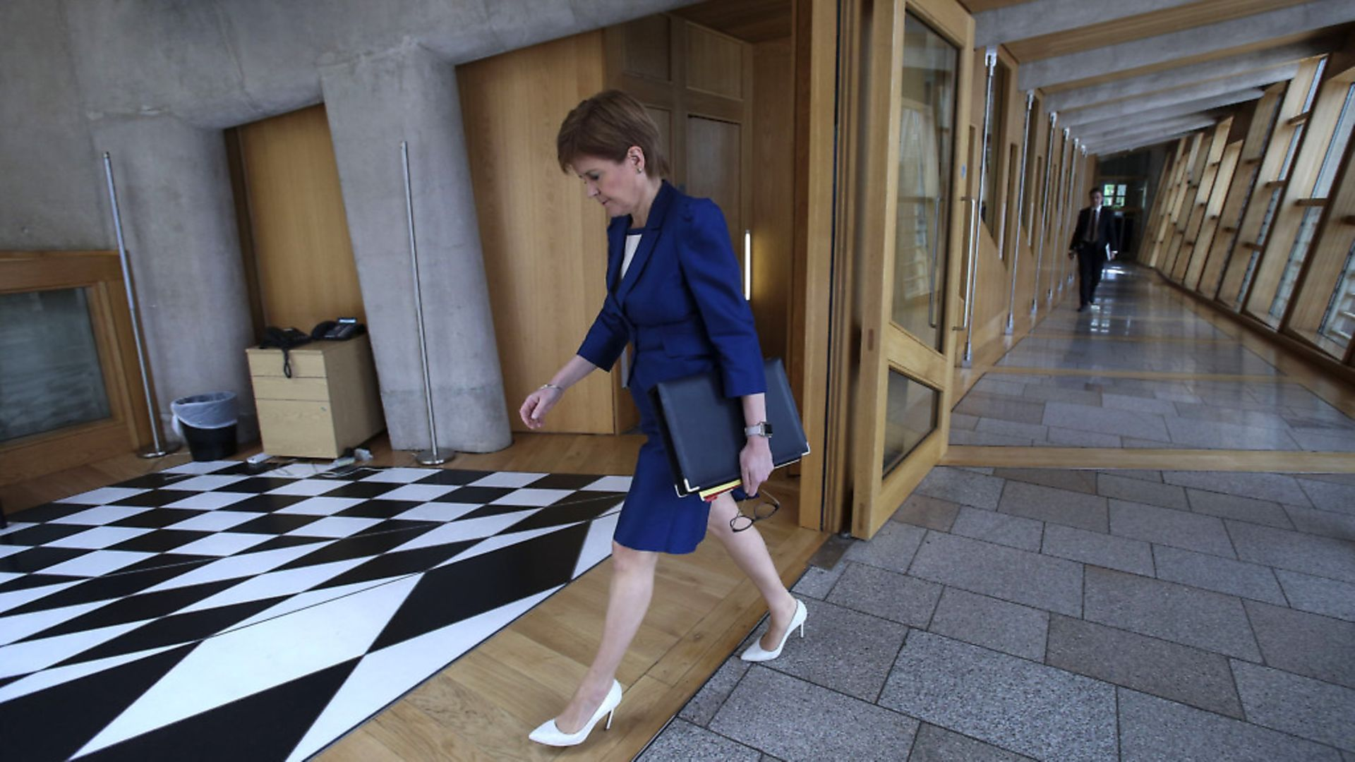 EDINBURGH, SCOTLAND - JUNE 3: Scottish First Minister, Nicola Sturgeon attends First Ministers Questions at Holyrood on June 3, 2020 in Edinburgh, Scotland. (Photo by Fraser Bremner-Pool/Getty Images) - Credit: Getty Images