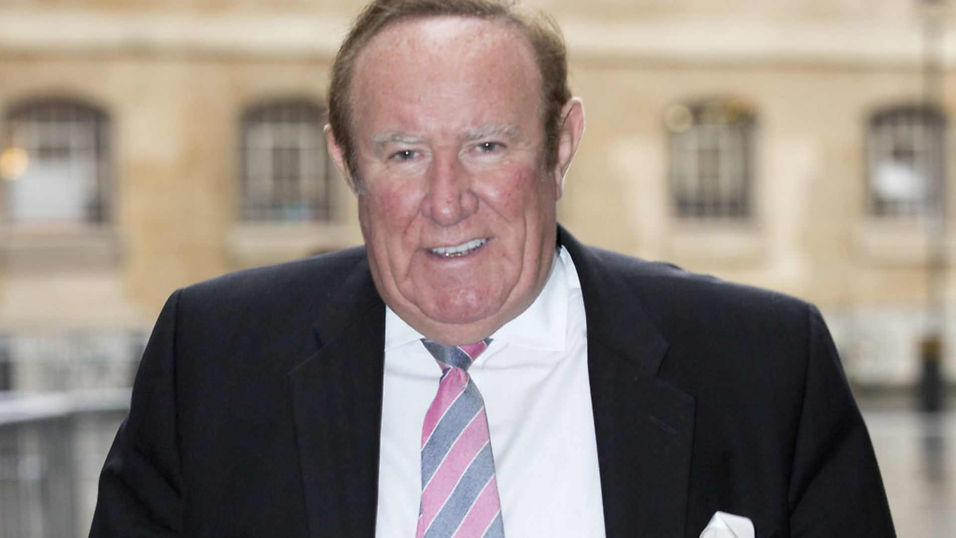 Andrew Neil arriving at BBC Broadcasting House. Picture: PA/Isabel Infantes/EMPICS Entertainment. - Credit: EMPICS Entertainment