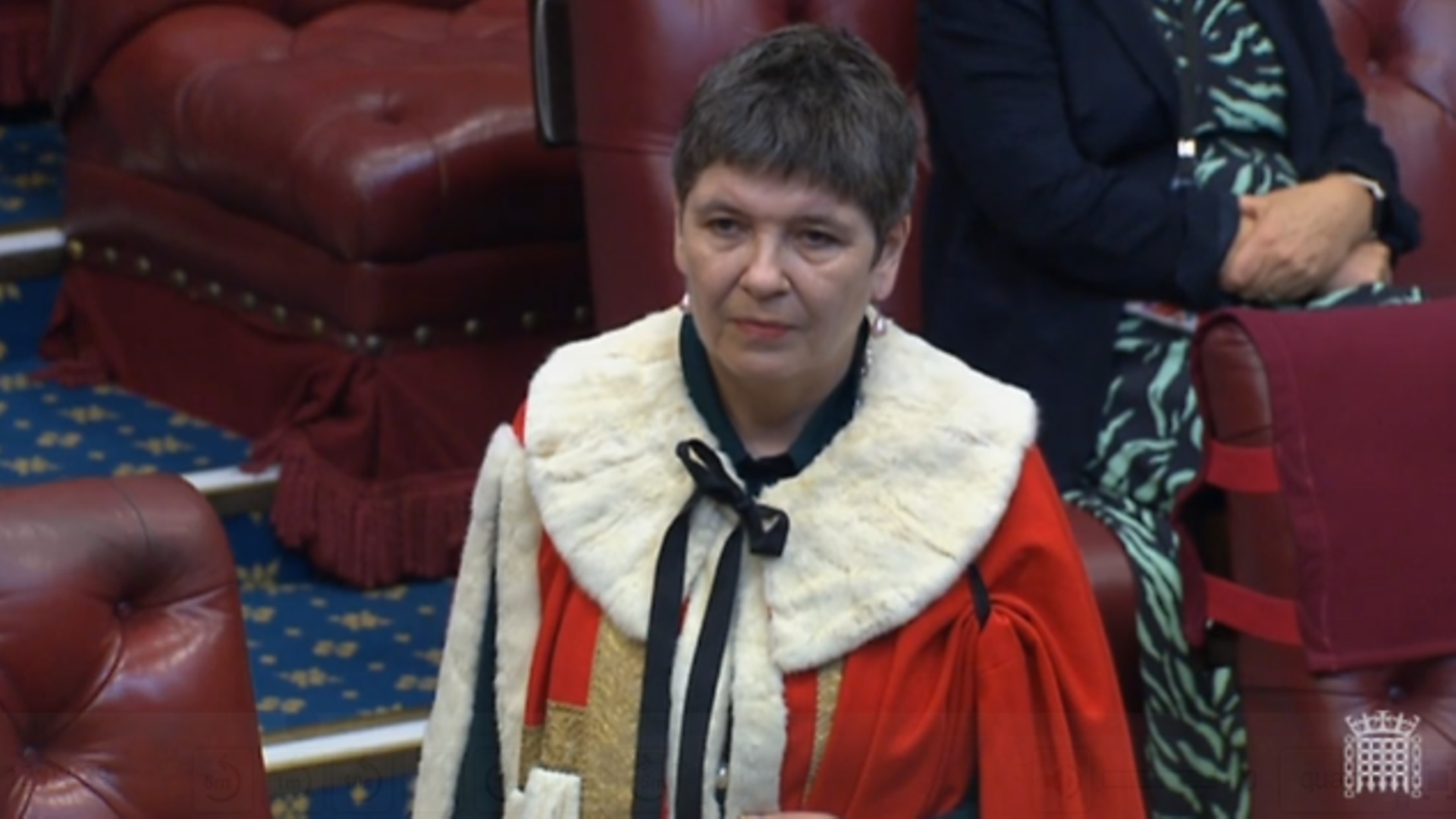Claire Fox in the House of Lords - Credit: Parliament Live