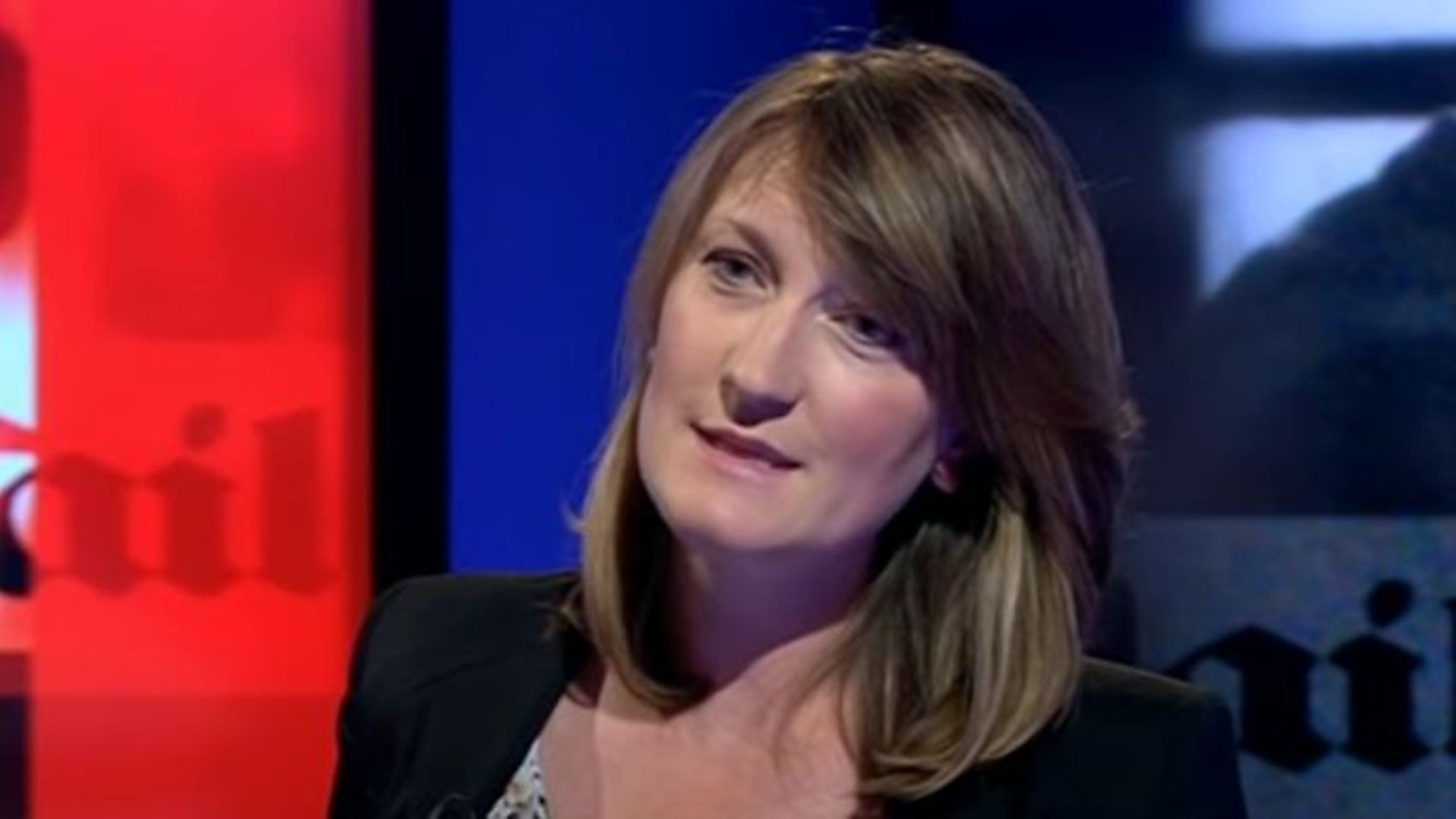 Allegra Stratton appearing on Newsnight - Credit: YouTube