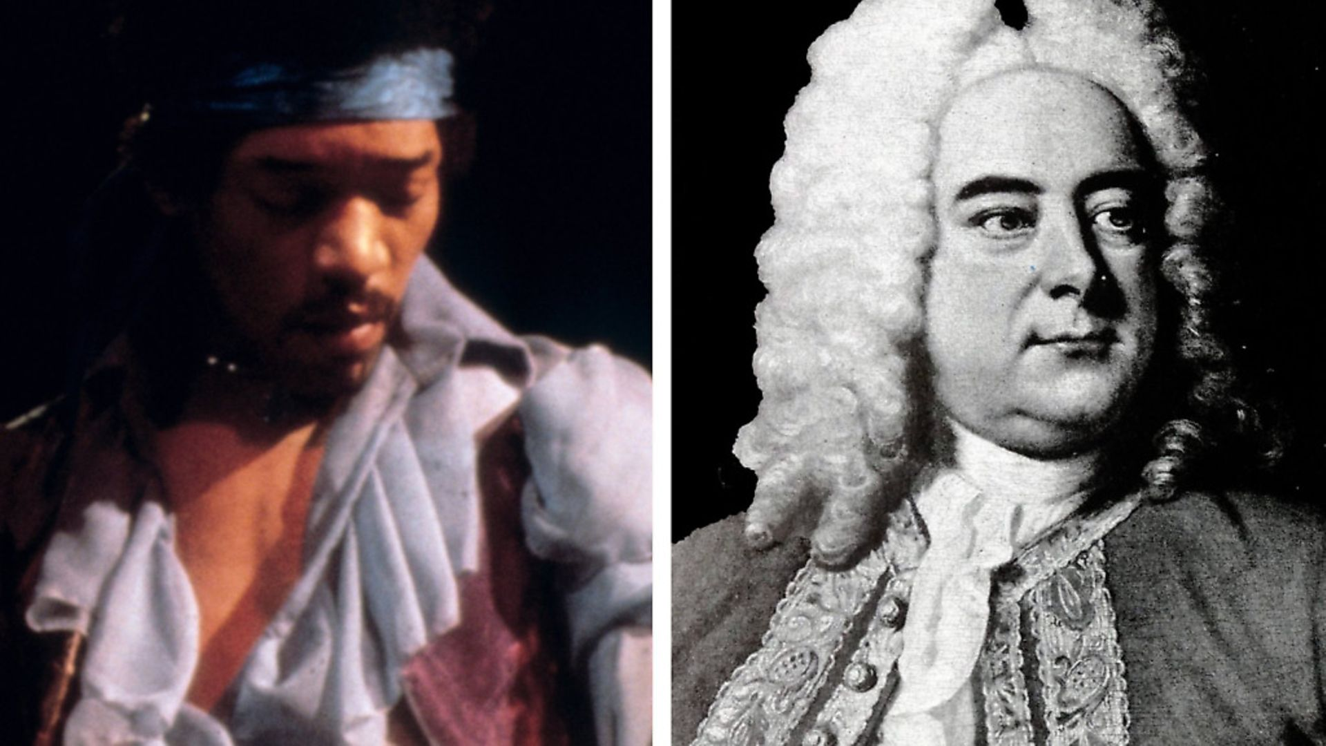 Jimi Hendrix and Handel - Credit: Archant