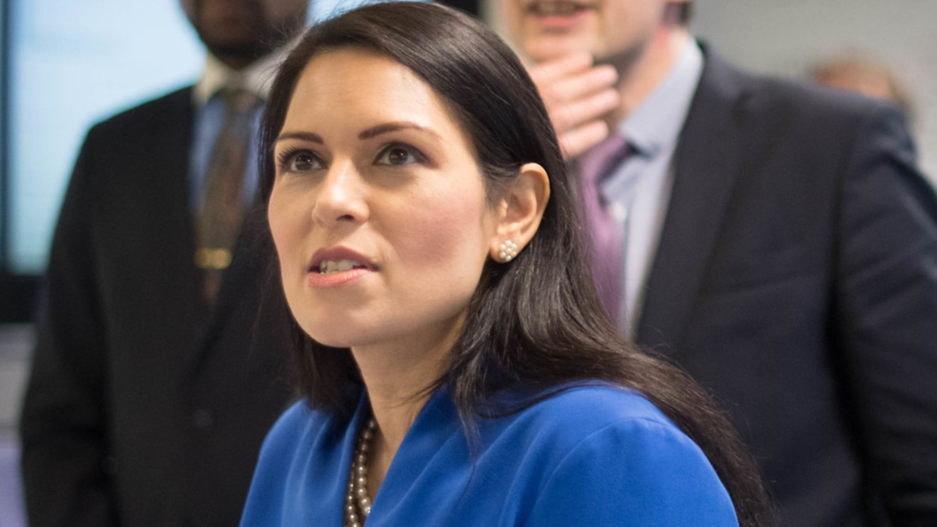 Home secretary Priti Patel asked staff to explore building an asylum seeker processing centre on Ascension Island - Credit: Stefan Rousseau/PA Wire.