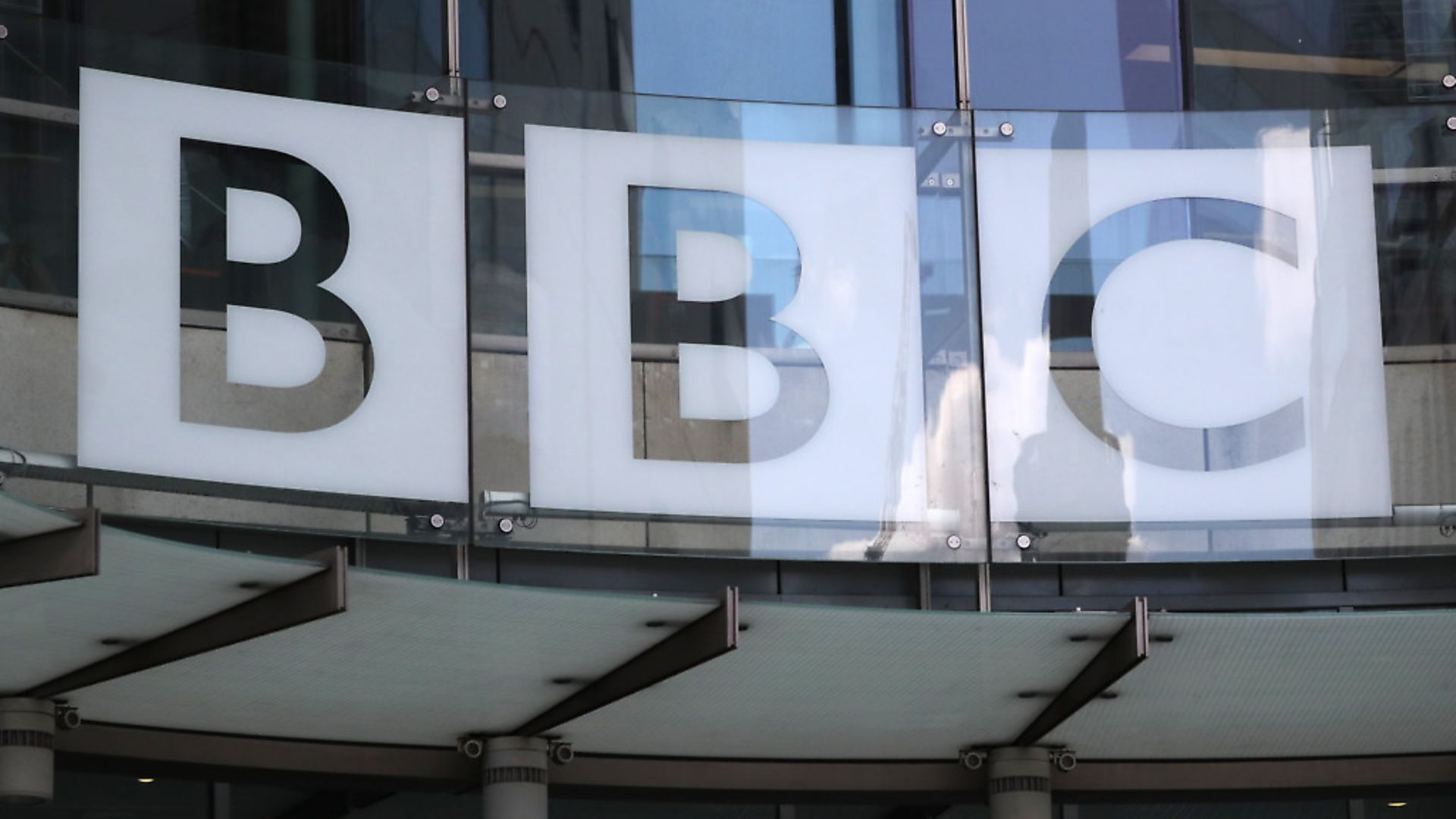A view of the BBC New Broadcasting House sign in central London. - Credit: PA Wire/PA Images