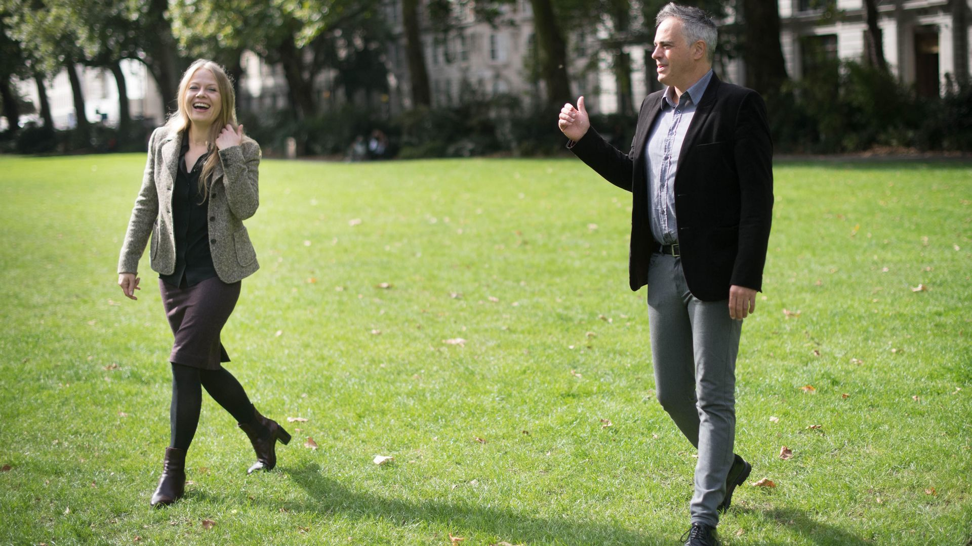 Sian Berry and Jonathan Bartley, co-leaders of the Green Party - Credit: PA