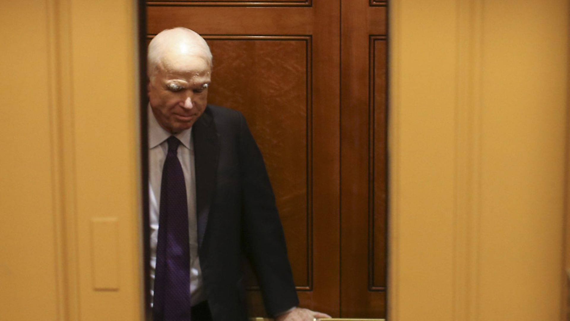 Sen. John McCain  (Photo by Oliver Contreras) - Credit: SIPA USA/PA Images