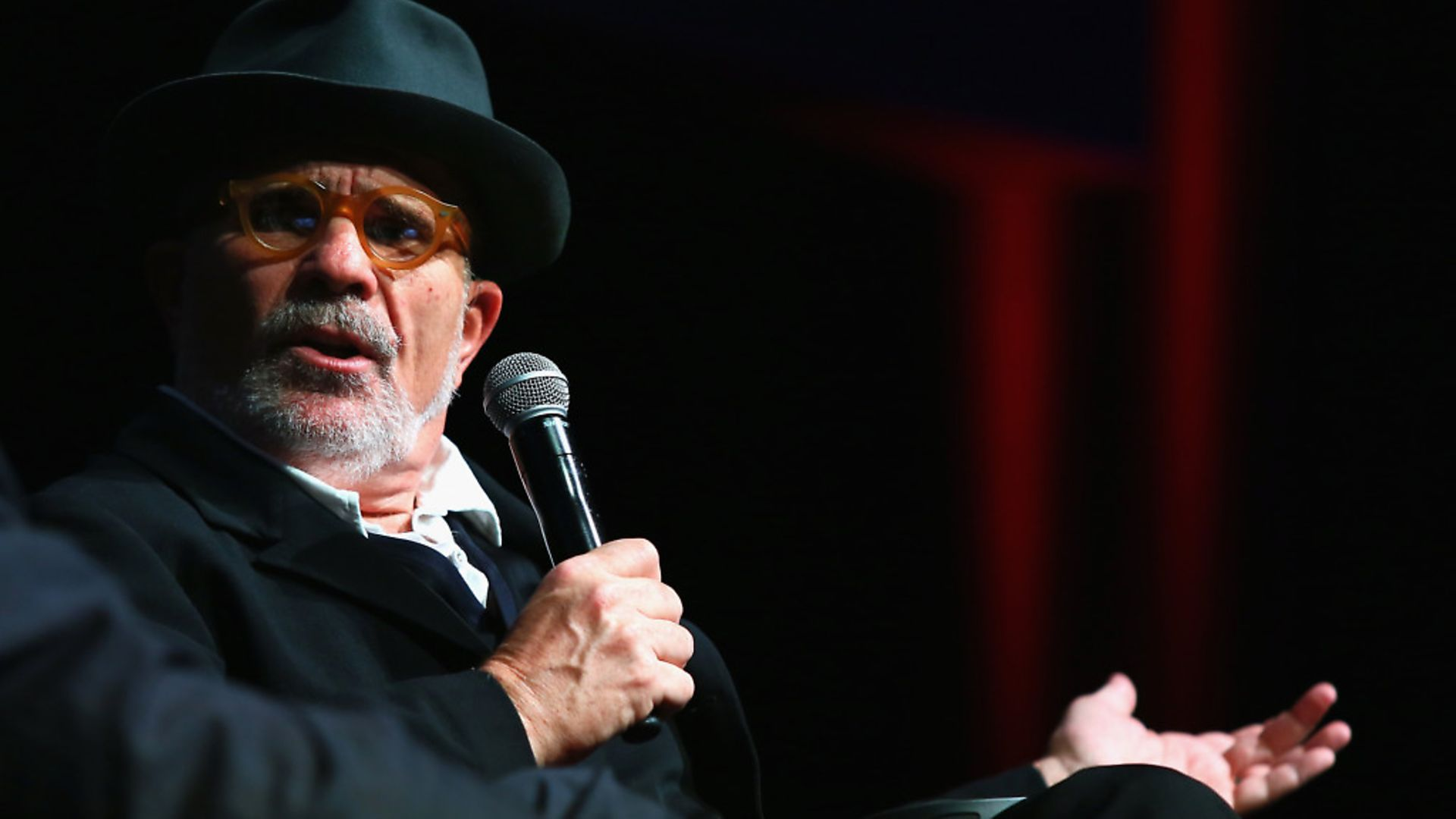 David Mamet meets the audience during the 11th Rome Film Festival at Auditorium Parco Della Musica in 2016. Photo: Ernesto Ruscio/Getty Images - Credit: Getty Images