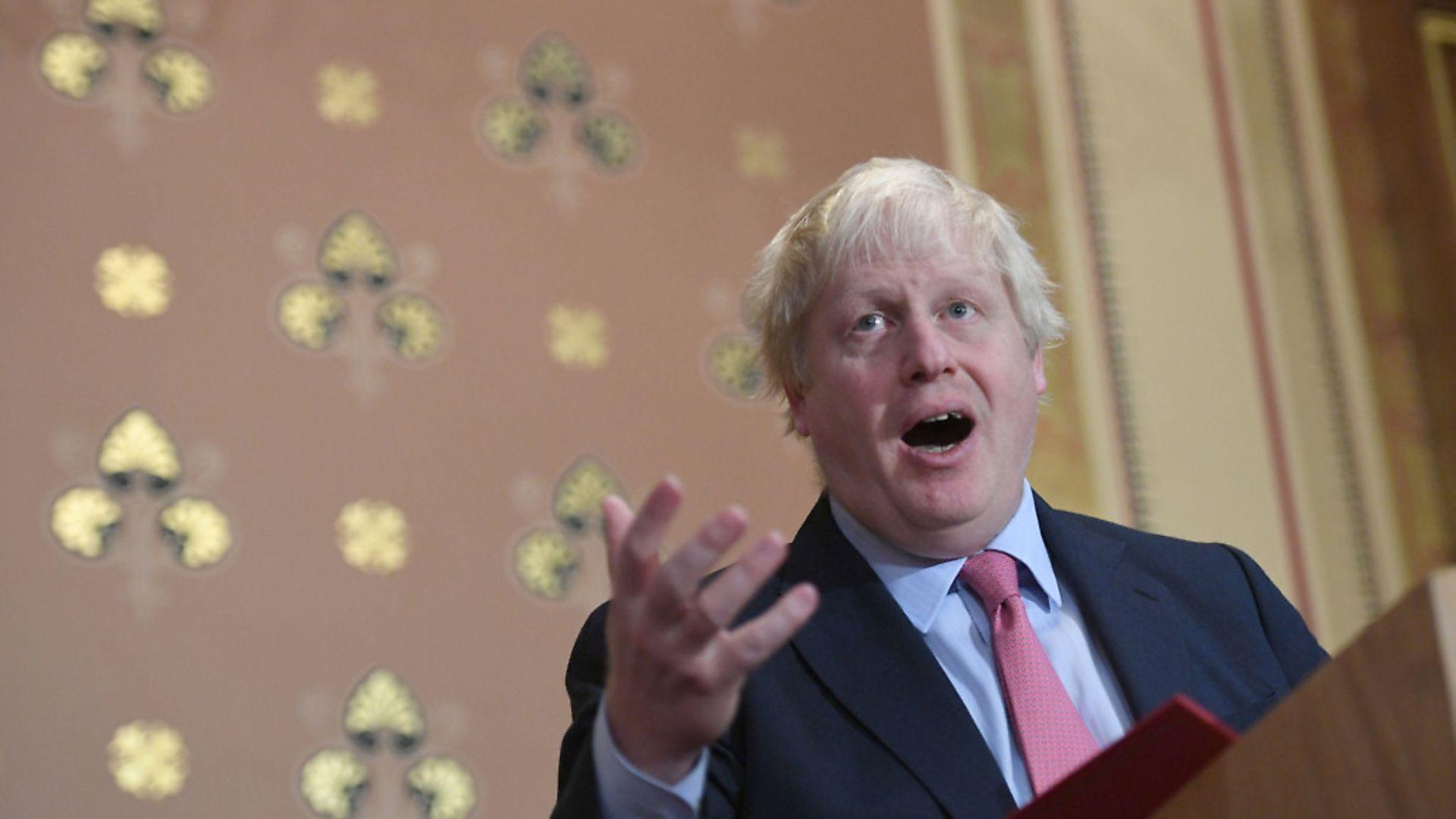 Bungling Brexit bombshell Boris Johnson - Credit: PA Wire/PA Images