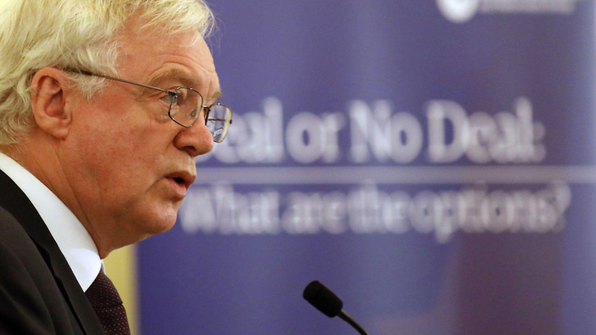 Does Brexit Secretary David Davis have no shame? - Credit: PA Wire/PA Images