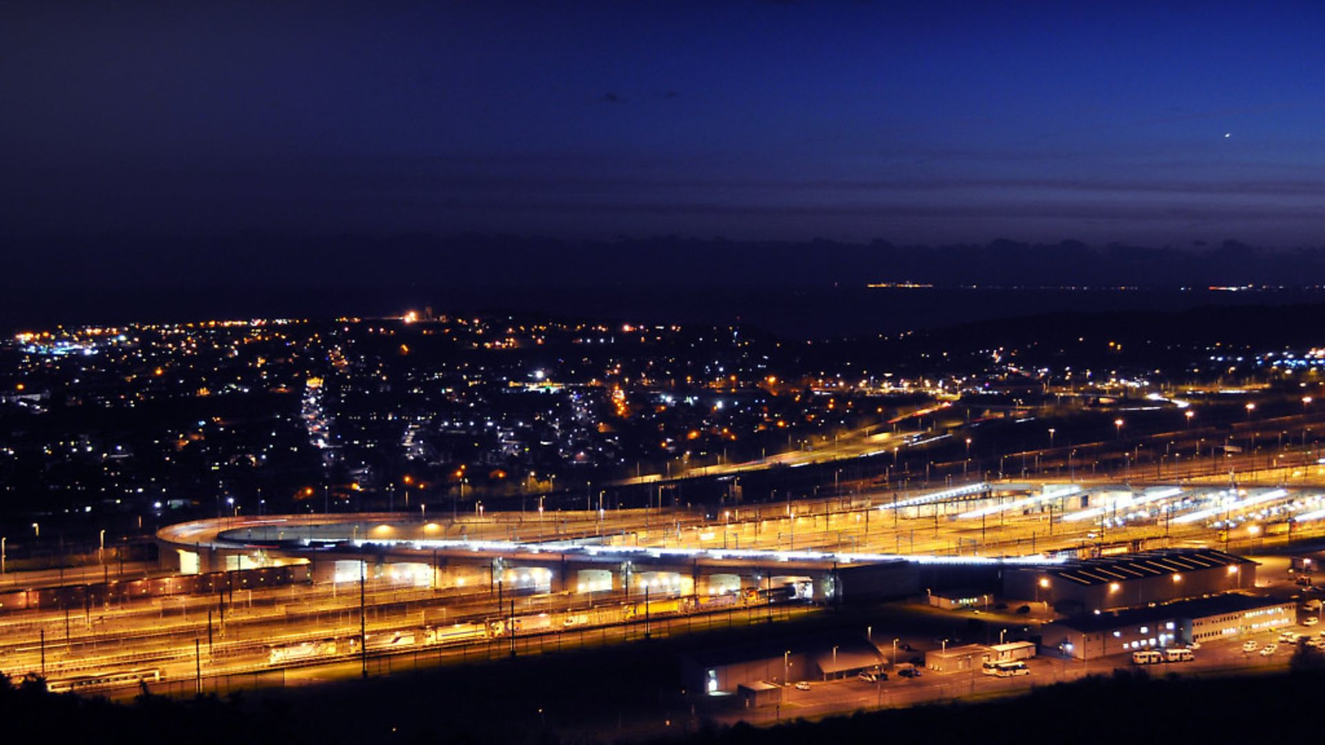 The Channel Tunnel at Folkestone is an example of what Europe can do. Photo: Archant - Credit: Archant