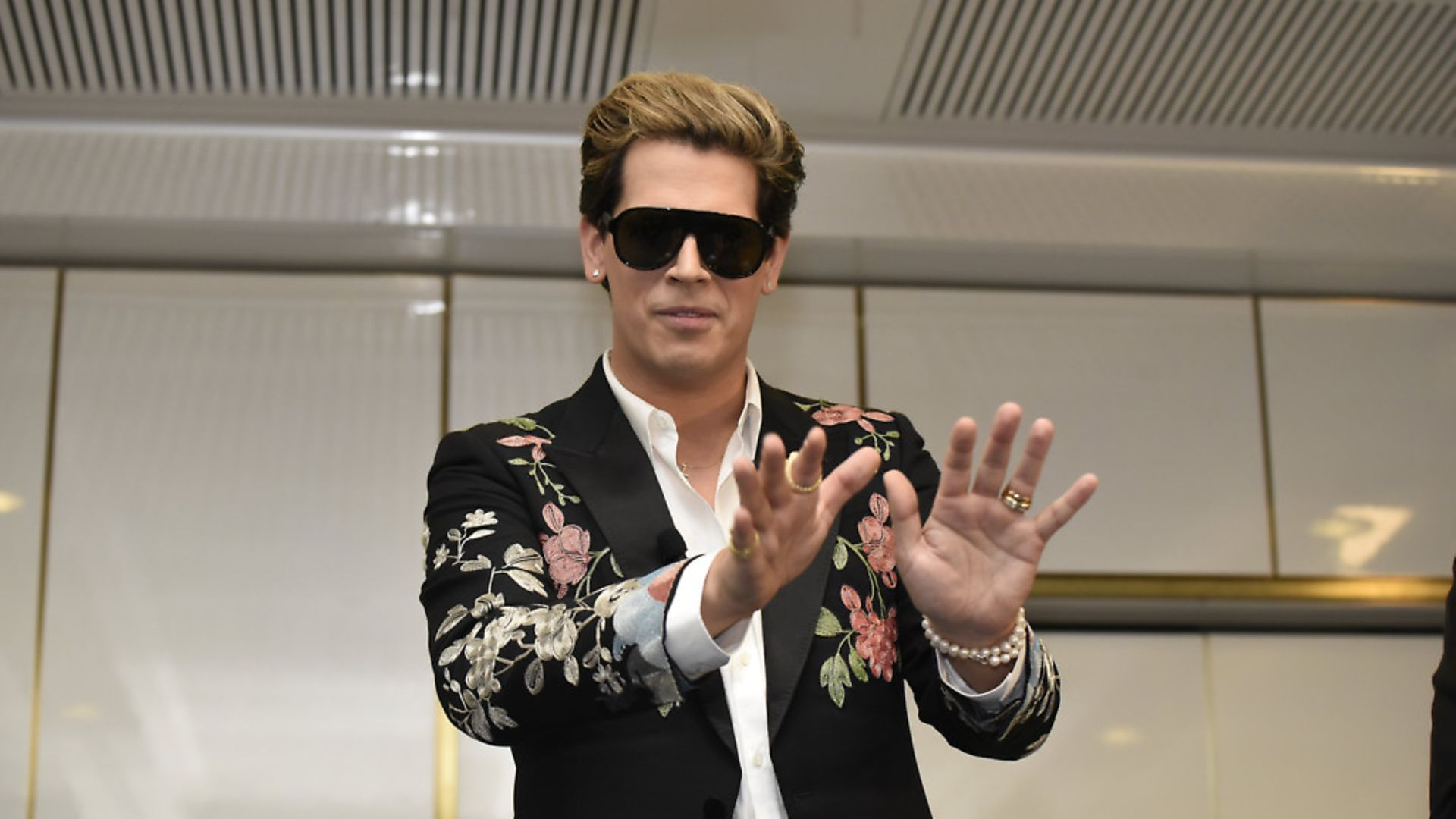 Milo Yiannopoulos speaking at an event in Australia. Photo: Michael Masters/Getty Images - Credit: Getty Images