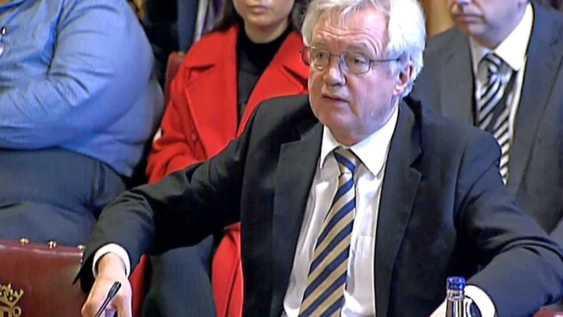 Brexit Secretary David Davis gives evidence to the the European Union Select Committee in the House of Lords. Picture: PA Wire/PA Images - Credit: PA Wire/PA Images