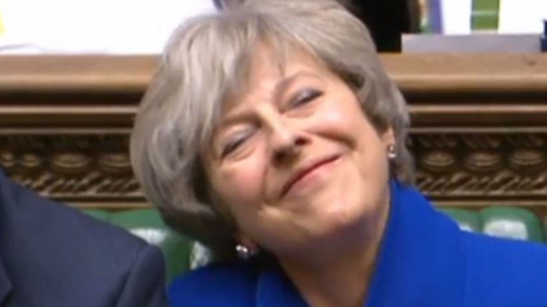 Prime Minister Theresa May in the House of Commons during PMQs. Photograph: PA Images. - Credit: PA Wire/PA Images