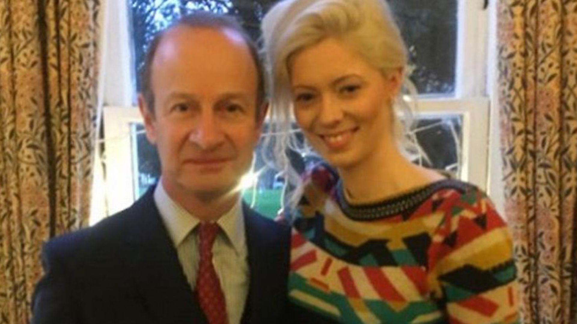 Henry Bolton and Jo Marney. Photo: Twitter. - Credit: Archant