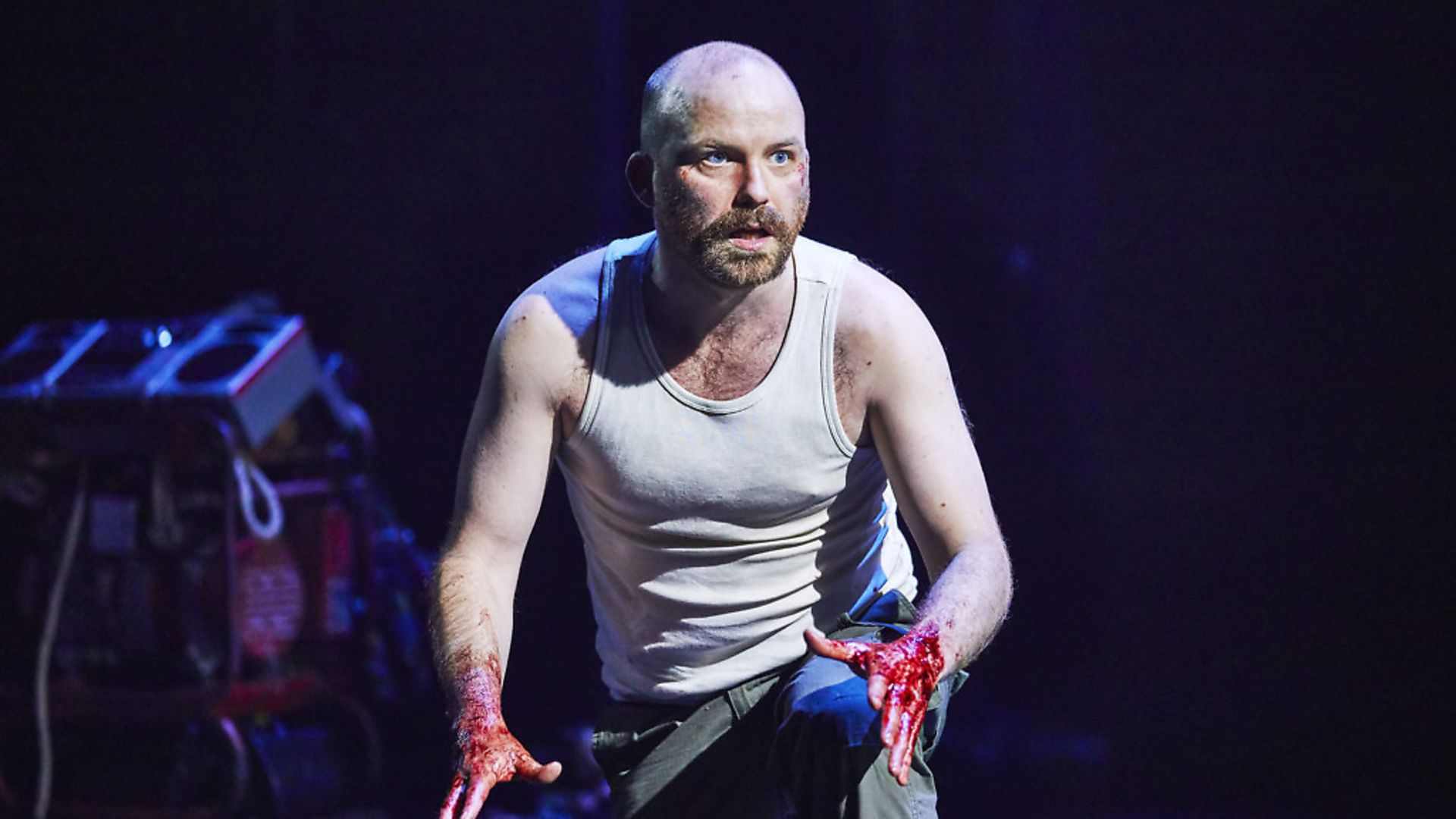 Rory Kinnear plays Macbeth at the Royal National Theatre, London. Picture:  Brinkhoff-Moegenburg - Credit: Archant
