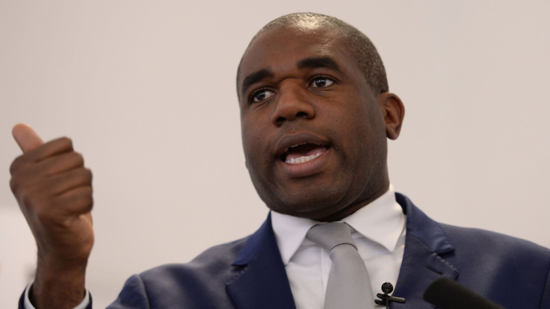 David Lammy, Labour MP for Tottenham, speaks Brexit and the Conservatives. Picture: PA - Credit: PA Wire/Press Association Images