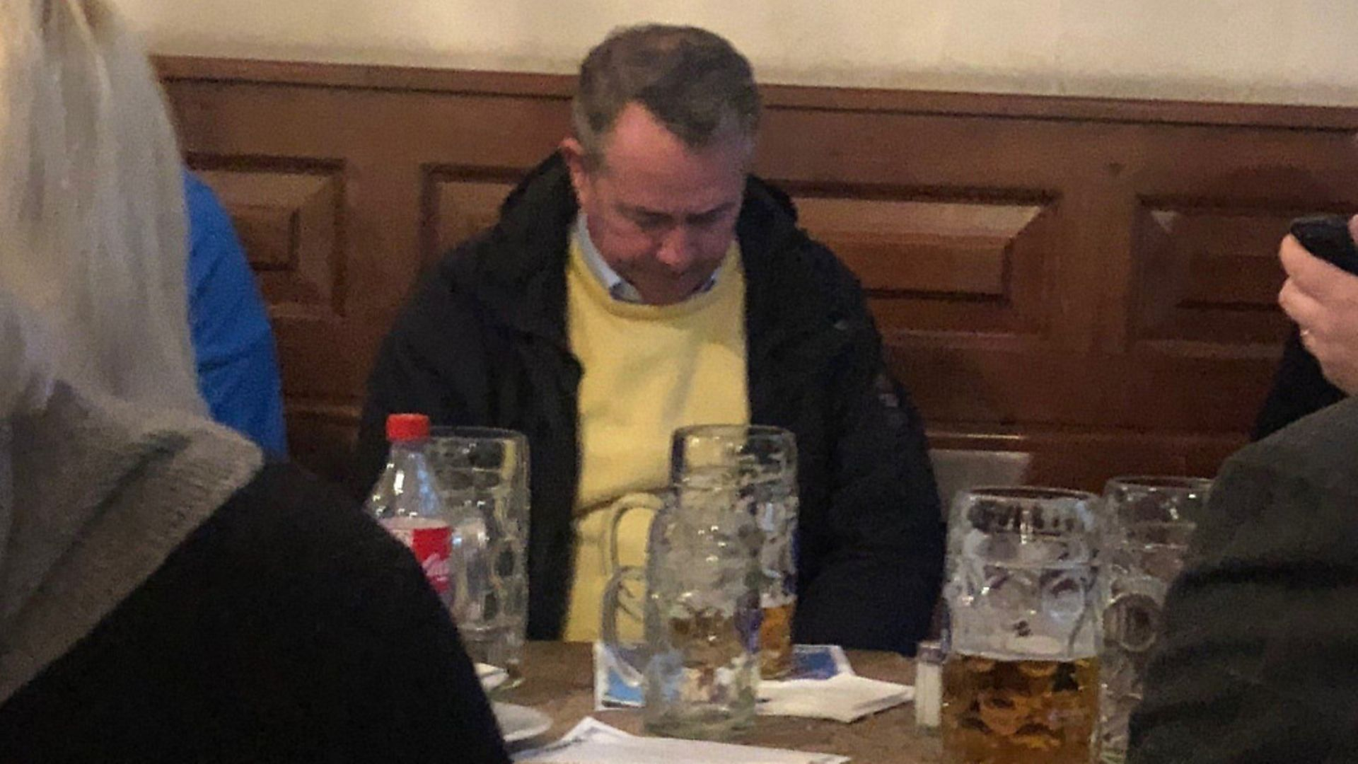 Liam Fox spotted in Munich - without Adam Werritty. Picture: Submitted - Credit: Archant