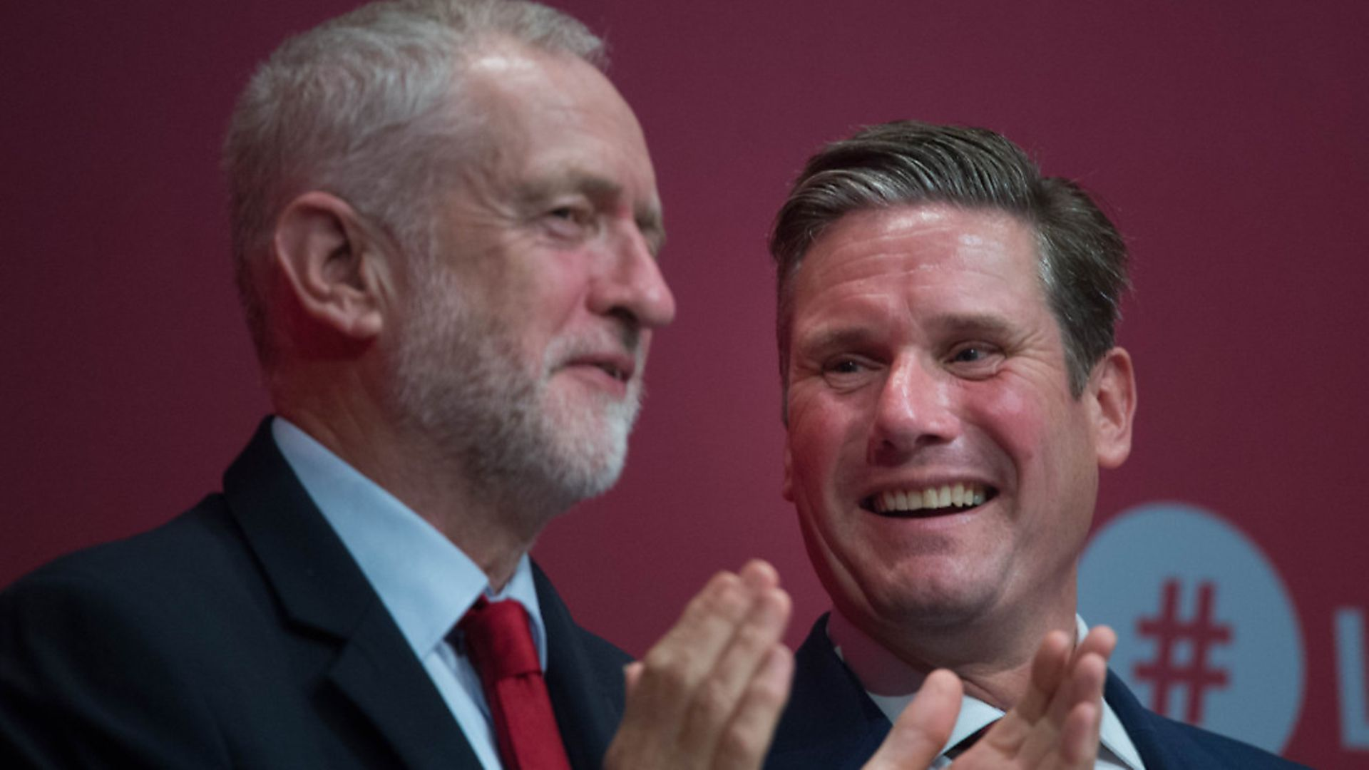 Labour leader Jeremy Corbyn with Shadow Brexit secretary Sir Keir Starmer. Photograph: Stefan Rousseau/PA. - Credit: PA Wire/PA Images