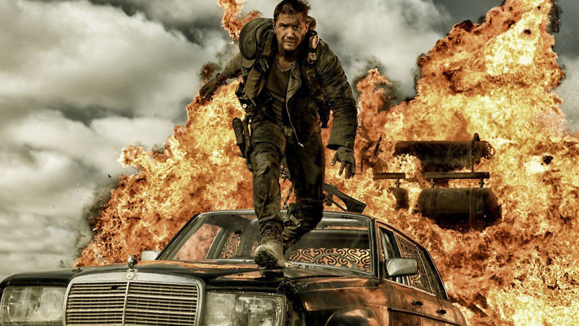 Tom Hardy in Mad Max:Fury Road.Photo: Cover Images. - Credit: Cover Images