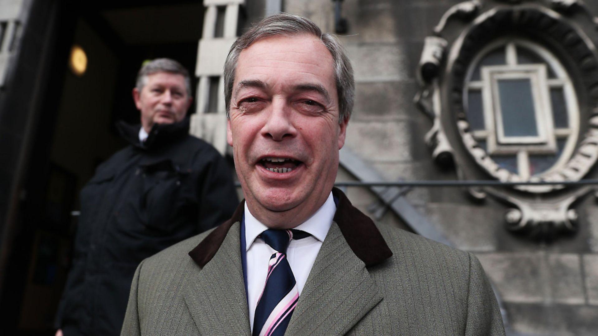 Nigel Farage. Photo: PA. - Credit: PA Wire/PA Images