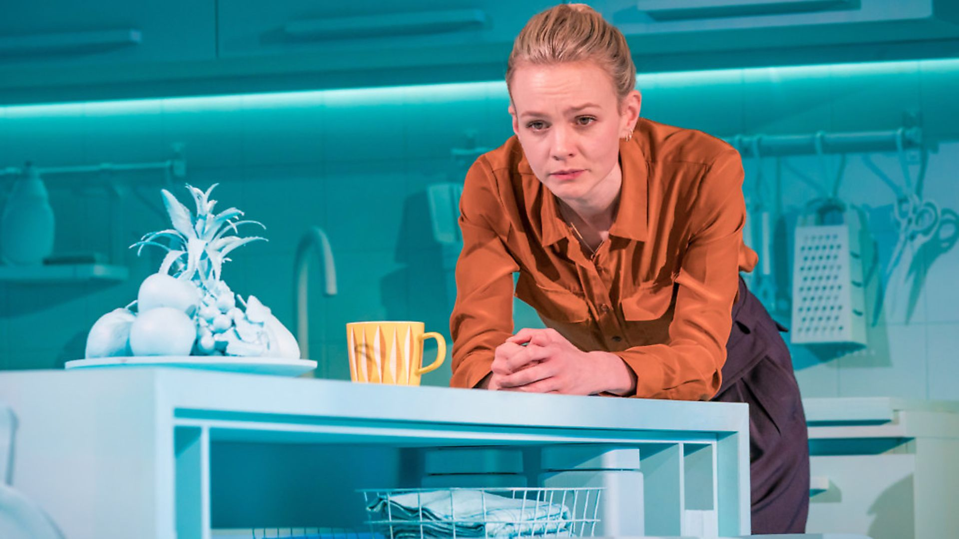 Carey Mulligan is appearing in Girls and Boys at the Royal Court Theatre. Photo Royal Court Theatre. - Credit: Archant