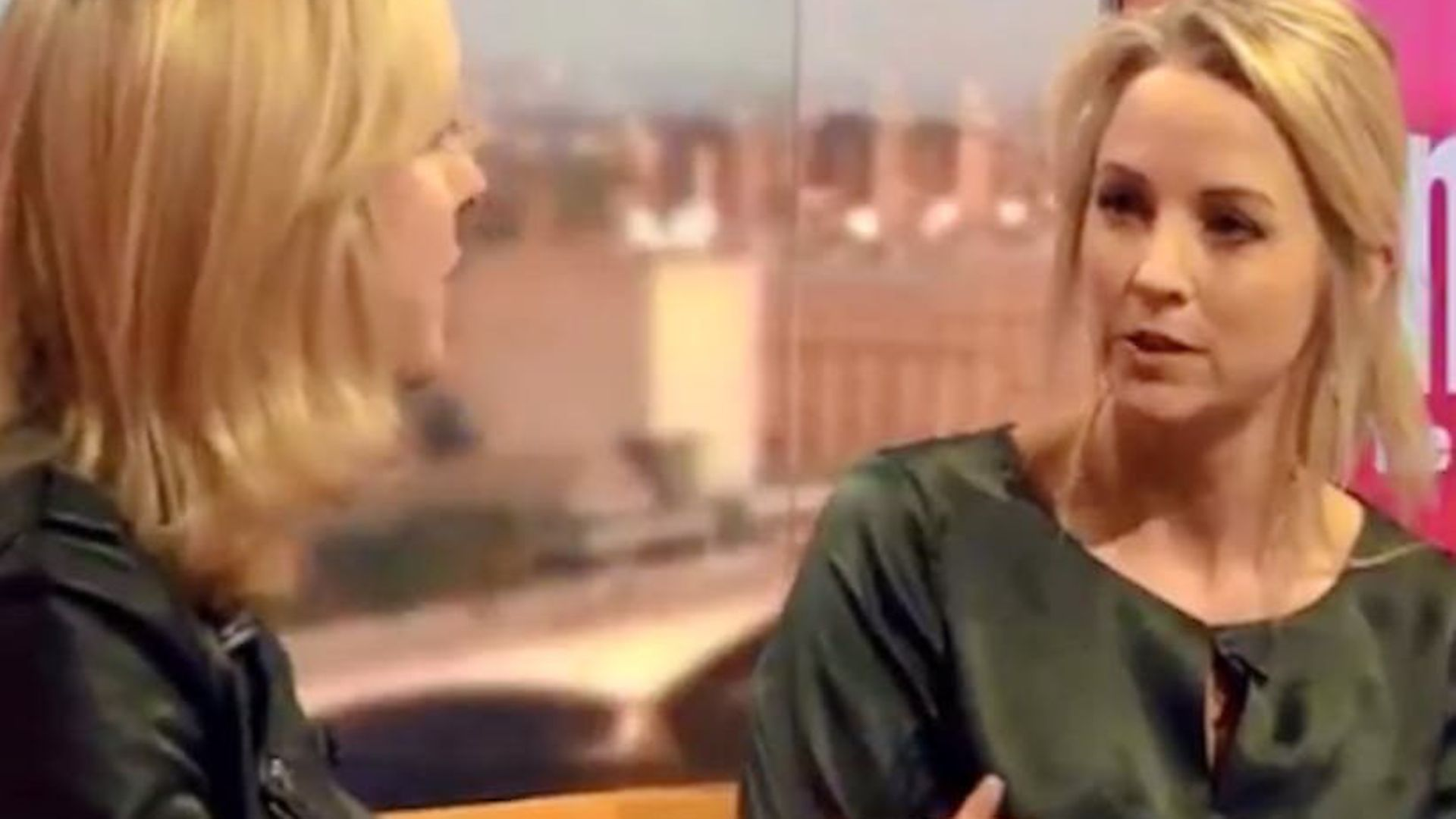Isabel Oakeshott and Carole Cadwalladr debate Cambridge Analytica on the Marr Show. Pictures: BBC. - Credit: Archant