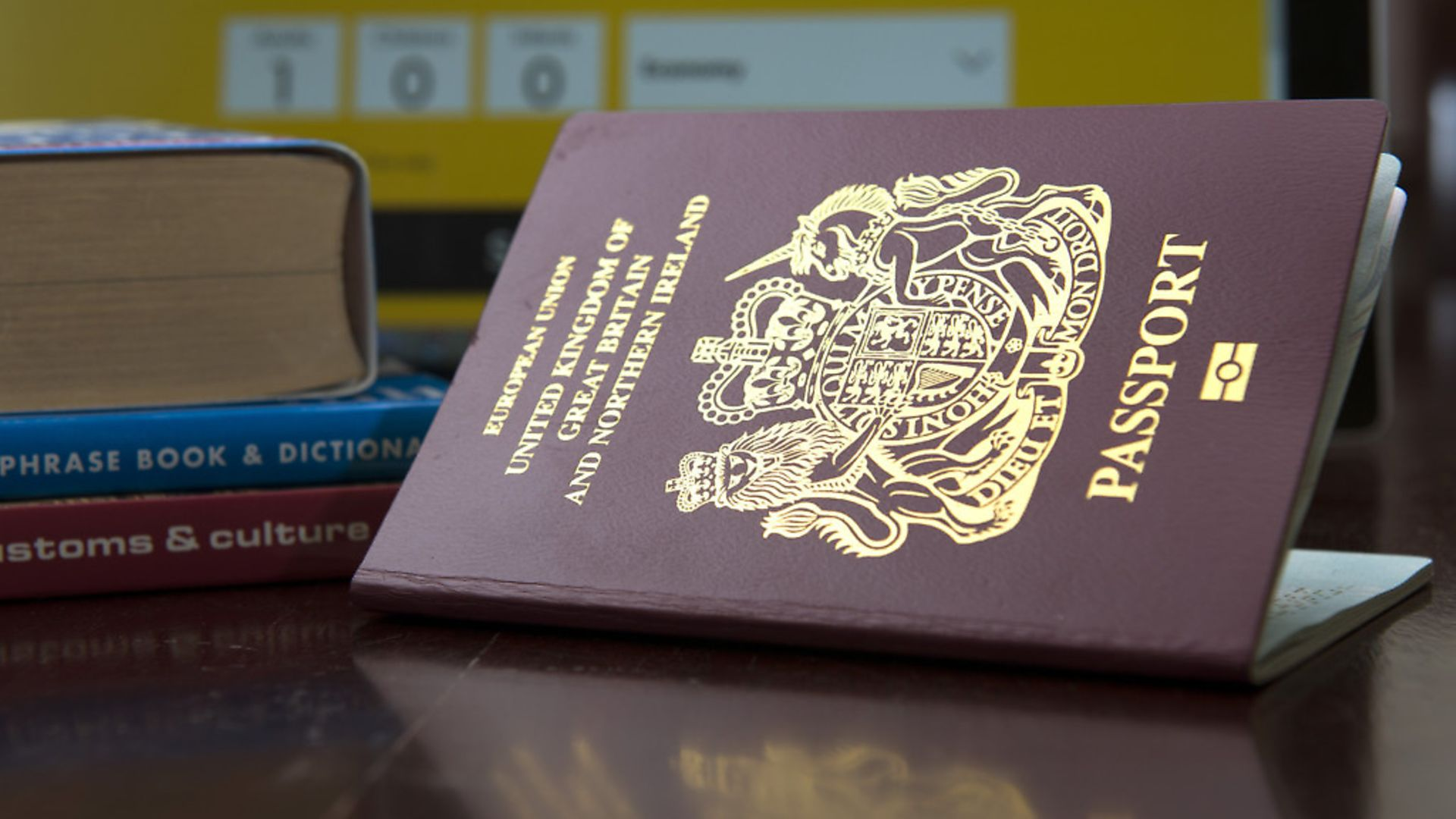 The present passport for the United Kingdom and Northern Ireland. Photo: PA Wire. - Credit: PA Wire/PA Images