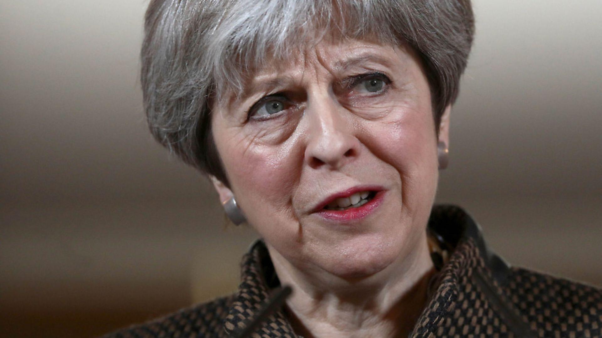 Prime Minister Theresa May. Photograph: Simon Dawson/PA Wire - Credit: PA