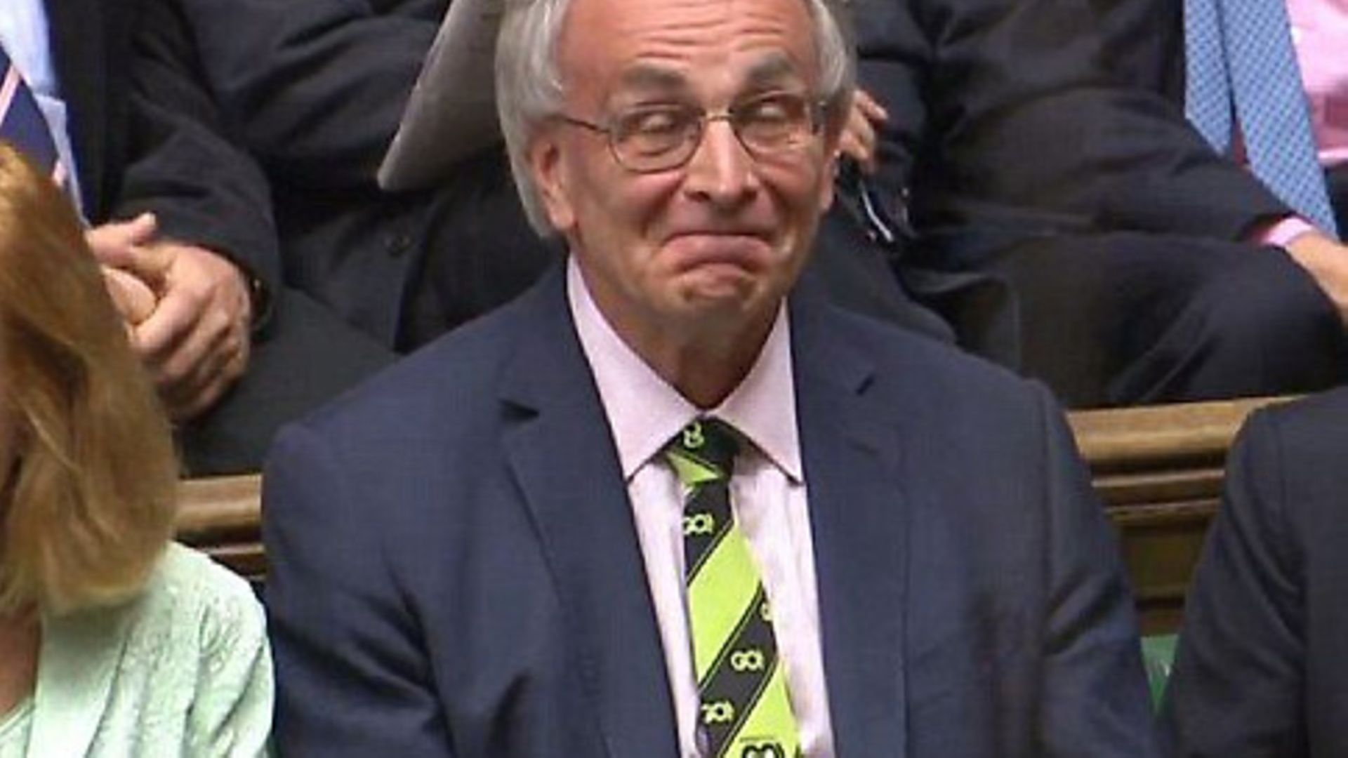 Peter Bone MP in the House of Commons - Credit: Parliament Live