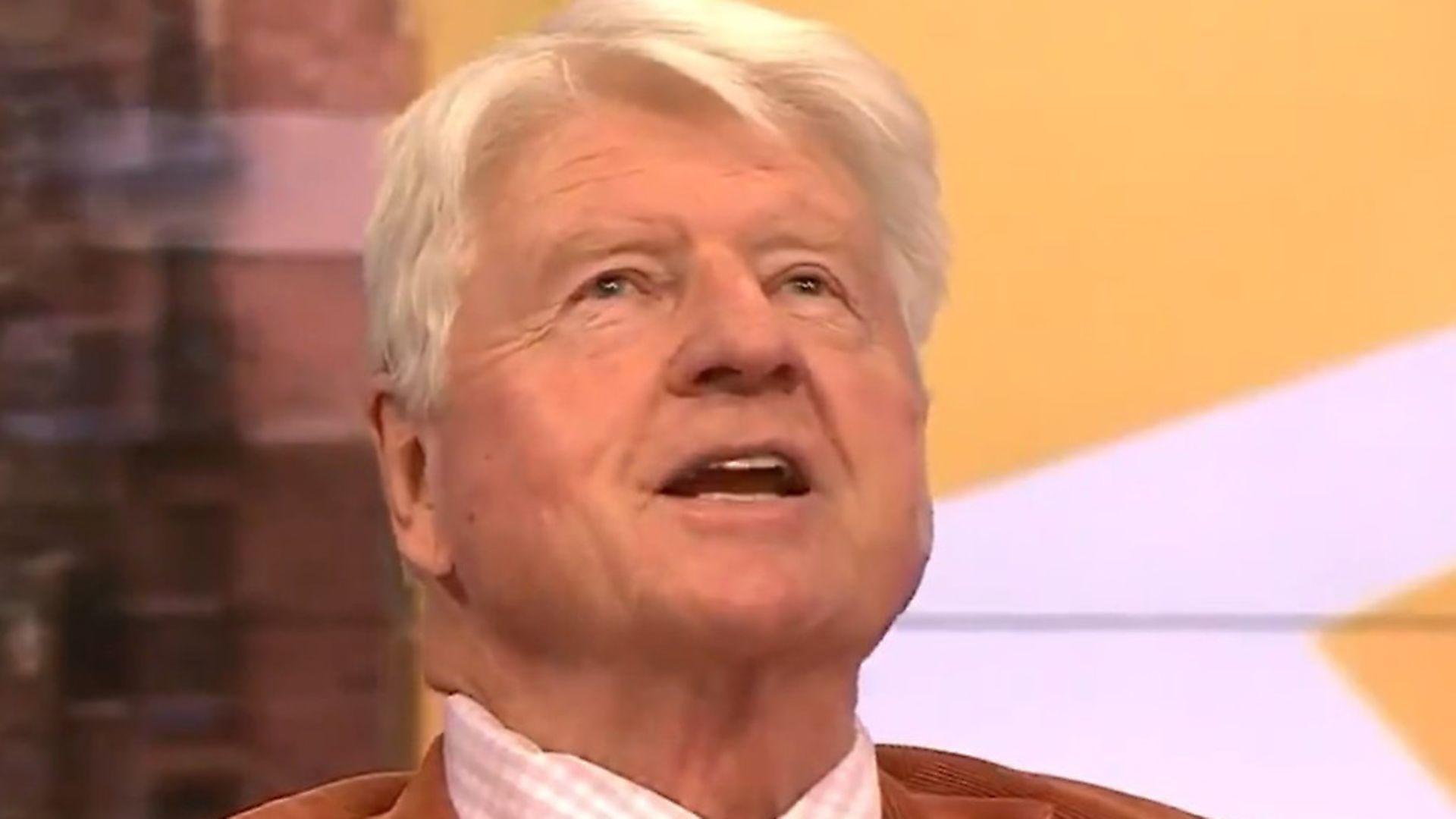 Boris Johnson's father Stanley Johnson. Photograph: BBC. - Credit: BBC