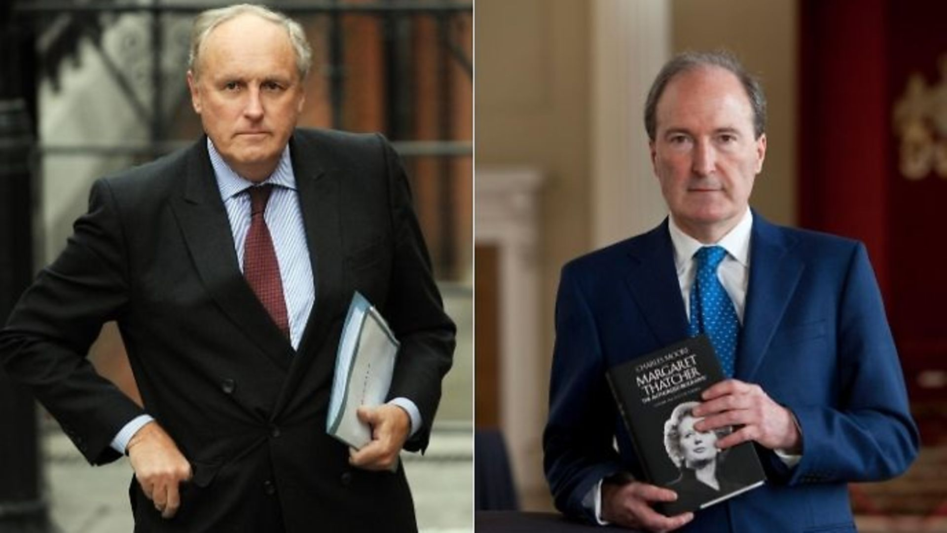 Paul Dacre (L) is being touted to become the next Ofcom chairman while Lord Charles Moore has been asked to take up the role of BBC chair - Credit: PA/Stefan Rousseau/David Levenson/Getty