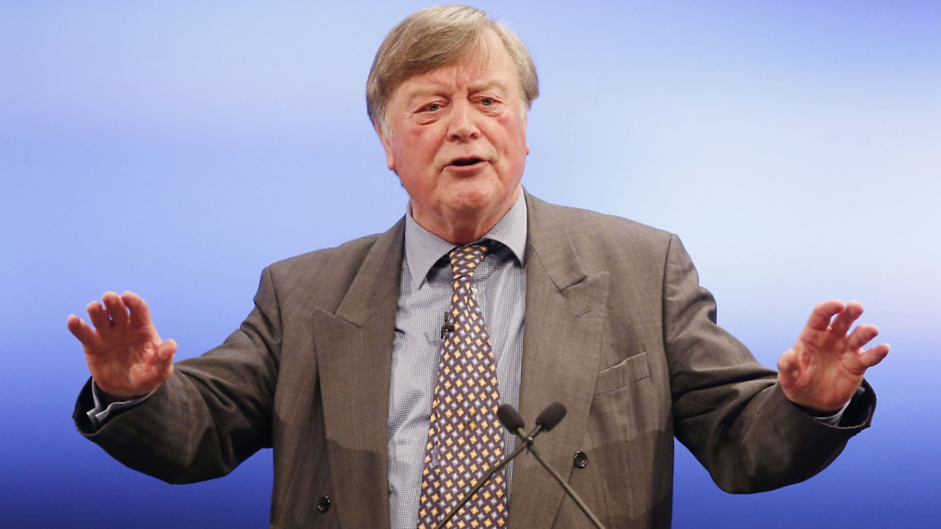 Ken Clarke addresses the 2014 Scottish Conservative Party. Picture: PA - Credit: PA Archive/PA Images