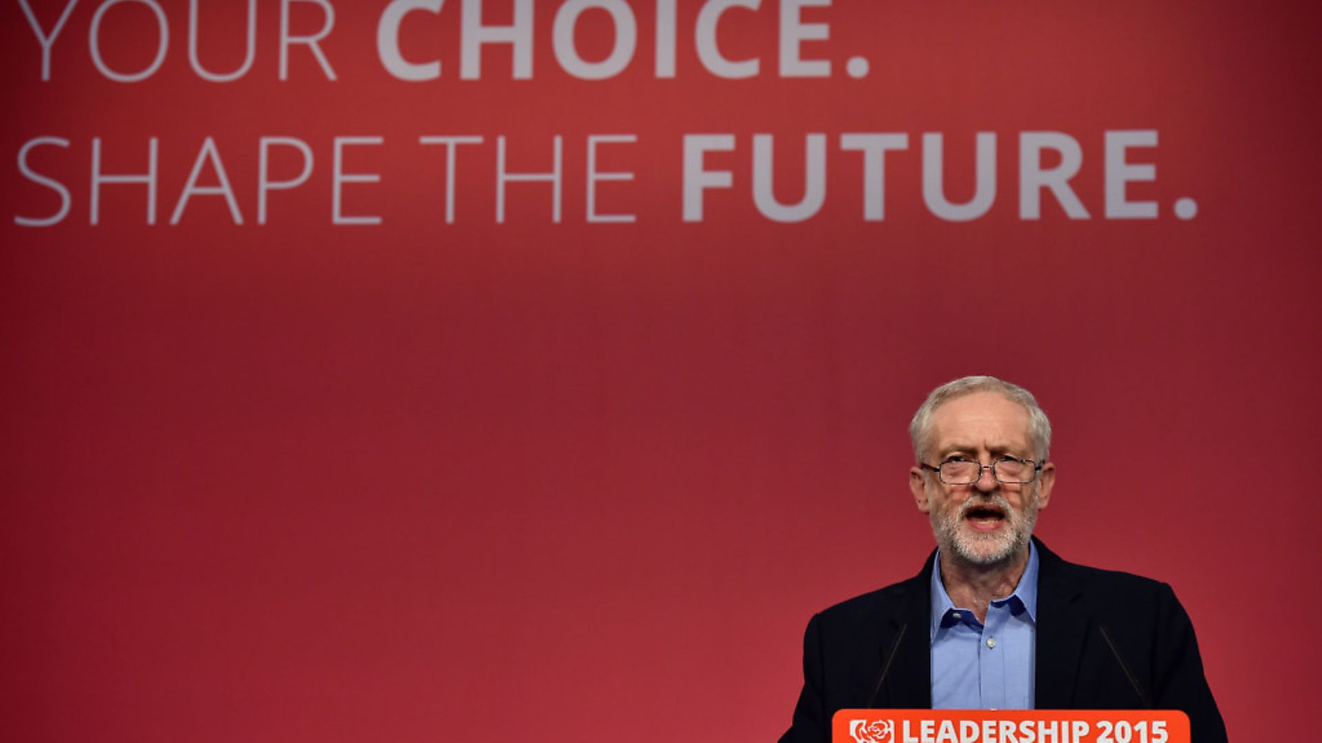 Jeremy Corbyn at a Labour Party leadership event. Photograph: Ben Stanstall/AFP/Getty Images. - Credit: AFP/Getty Images