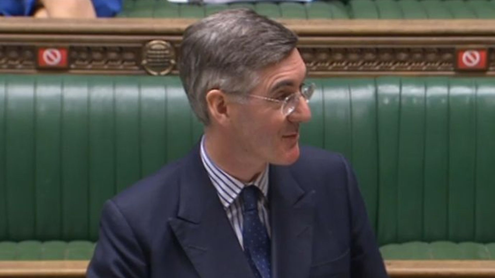 Jacob Rees-Mogg accused the SNP of 'modelling themselves on Oliver Twist' - Credit: Parliamentlive.tv