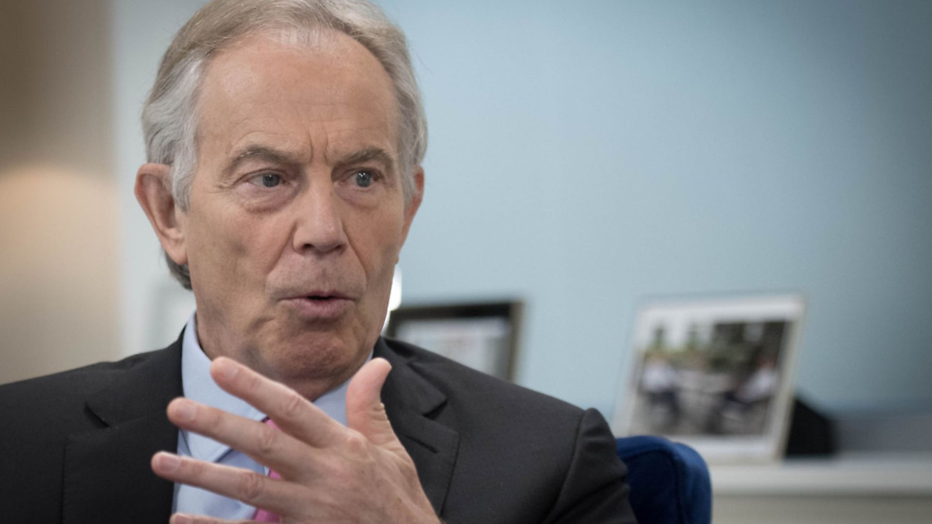 Former prime minister Tony Blair has attacked Labour over its Brexit stance/ Photo: PA/Stefan Rousseau - Credit: PA Wire/PA Images