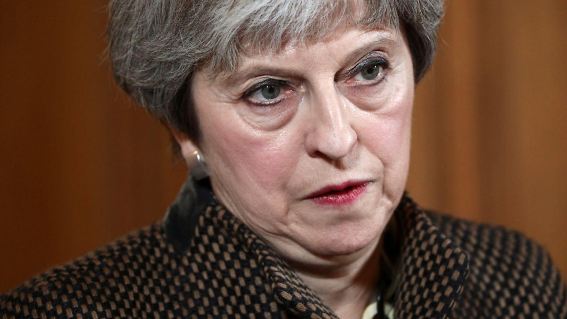 Prime Minister Theresa May. Photograph: PA/Simon Dawson - Credit: PA Wire/PA Images