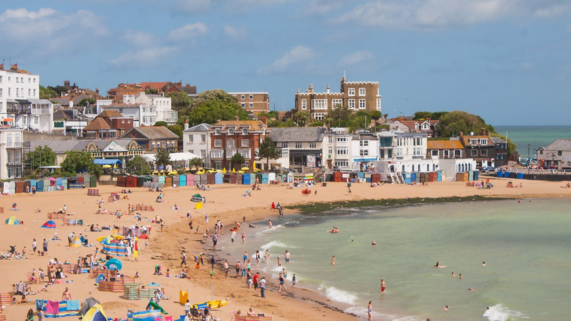 Broadstairs habour and beach, Isle of Thanet, Kent - Credit: Getty Images/iStockphoto