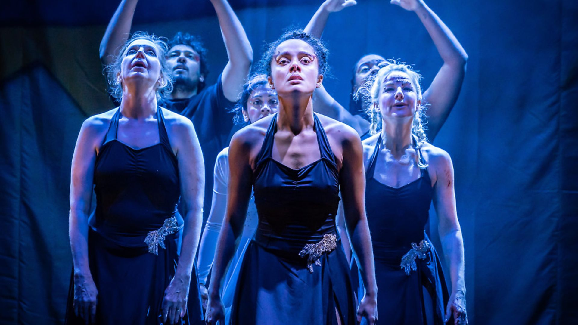 Dance Nation at the Almeida Theatre, London. Photo: Marc Brenner. - Credit: Archant