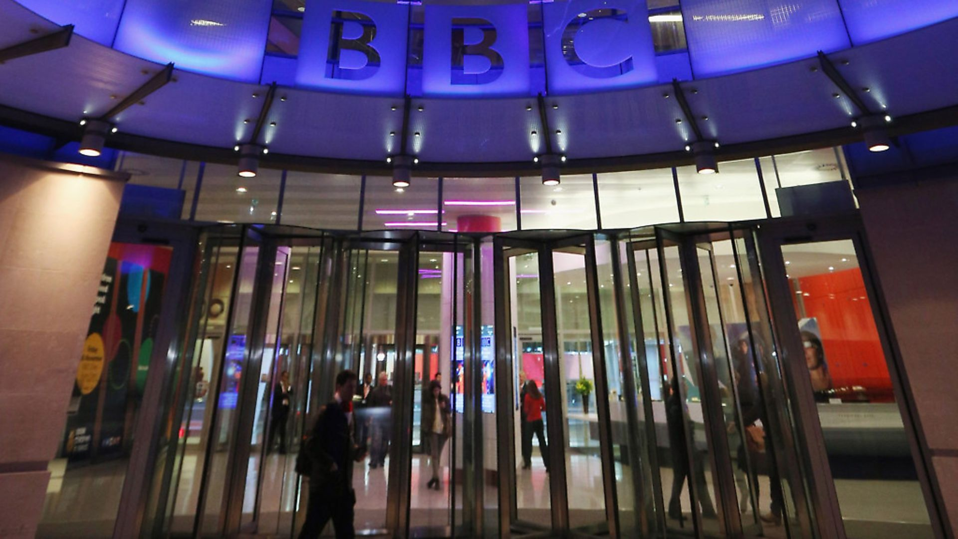 LONDON, ENGLAND - NOVEMBER 13:  The BBC headquarters at New Broadcasting House is illuminated at night on November 13, 2012 in London, England. Tim Davie has been appointed the acting Director General of the BBC following the resignation of George Entwistle after the broadcasting of an episode of the current affairs programme 'Newsnight' on child abuse allegations which contained errors.  (Photo by Oli Scarff/Getty Images) - Credit: Getty Images