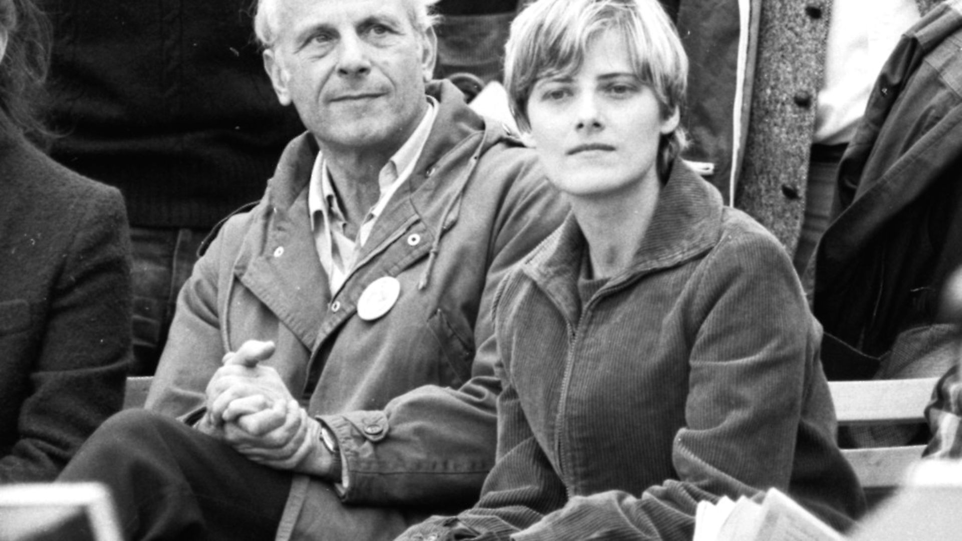 Petra Kelly with Gert Bastian at a peace rally in Bonn, 1981. Picture: Klaus Roseullstein bild via Getty Images - Credit: ullstein bild via Getty Images