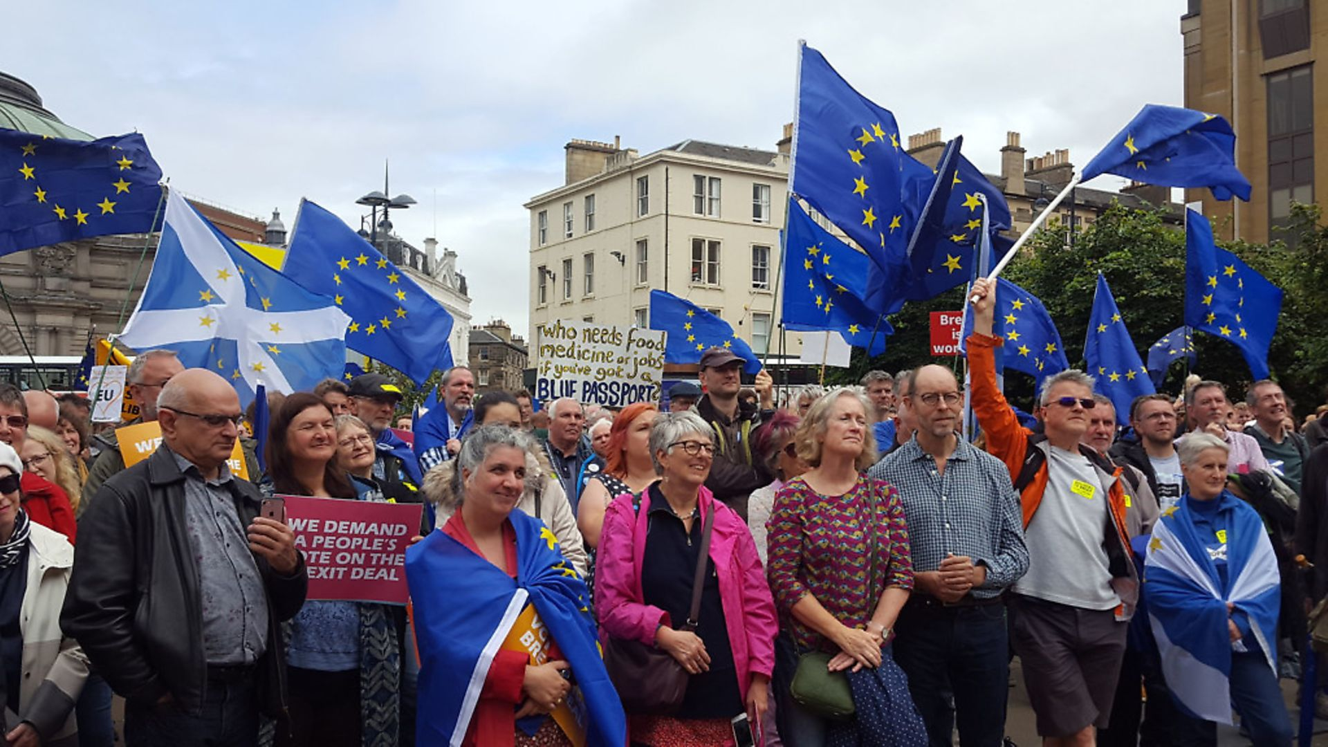 Remain is a movement entrenched across the UK. Photograph: Hilary Duncanson/PA Wire - Credit: PA