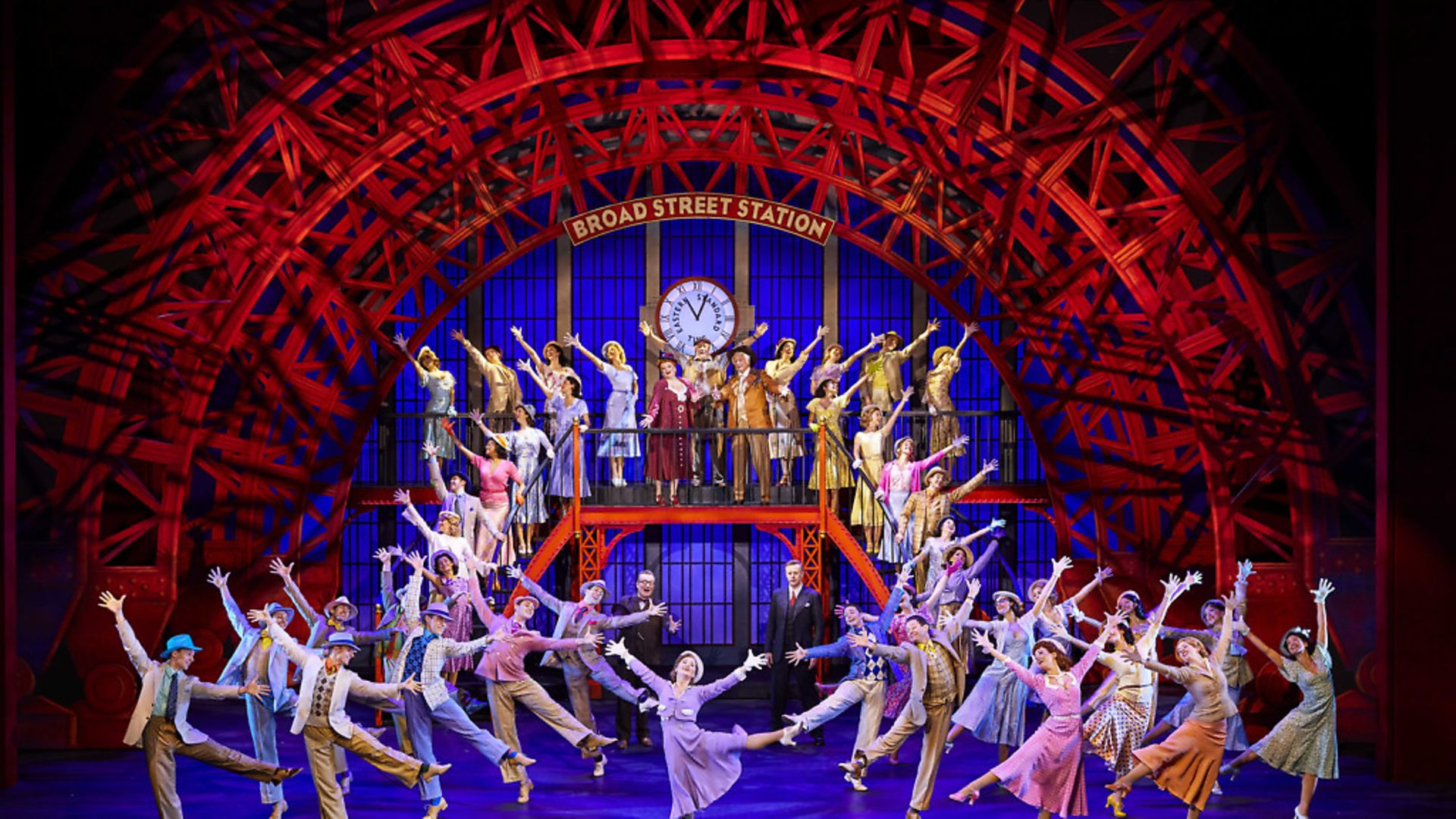 Clare Halse and company in 42nd Street. PHOTO: Brinkhoff/Moegenburg - Credit: Archant