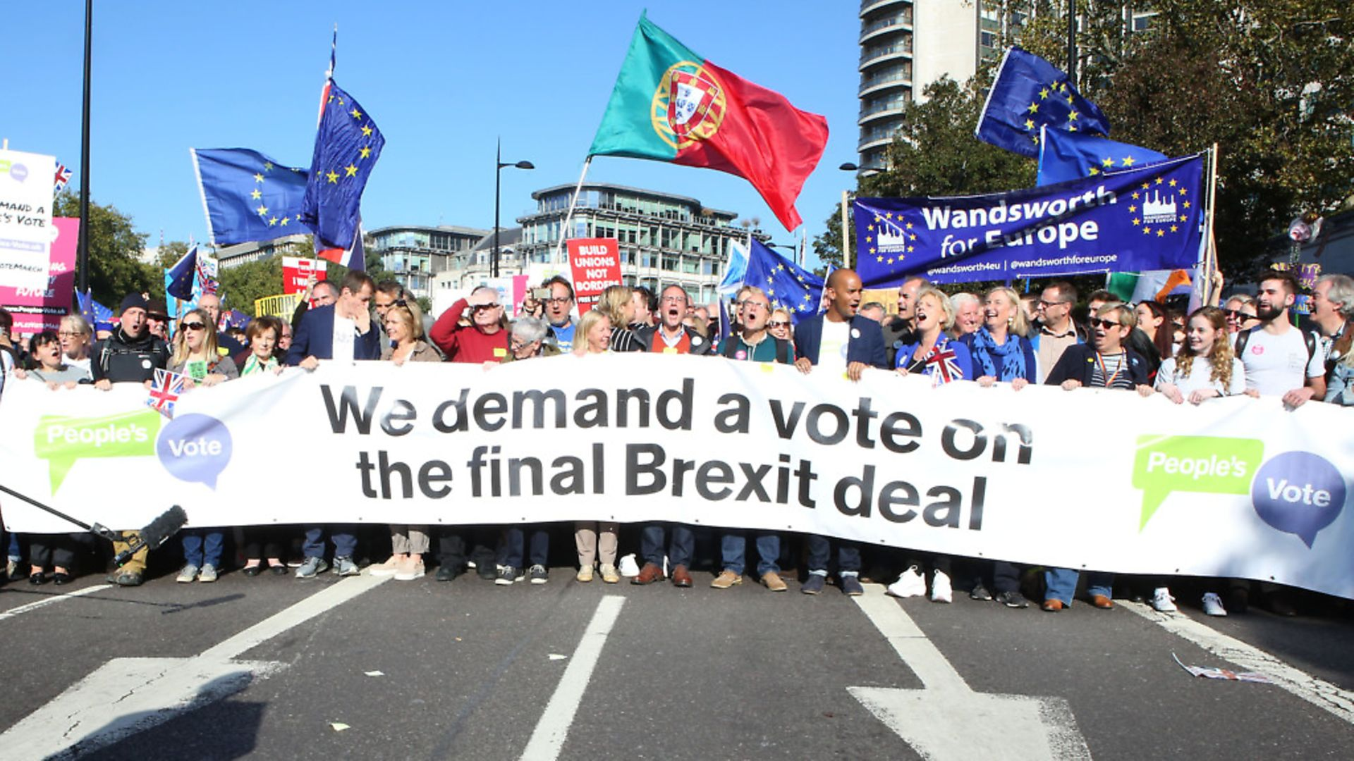 Peoples Vote on the final Brexit deal. Photo by Nicola Tree/Getty Images. - Credit: Getty Images