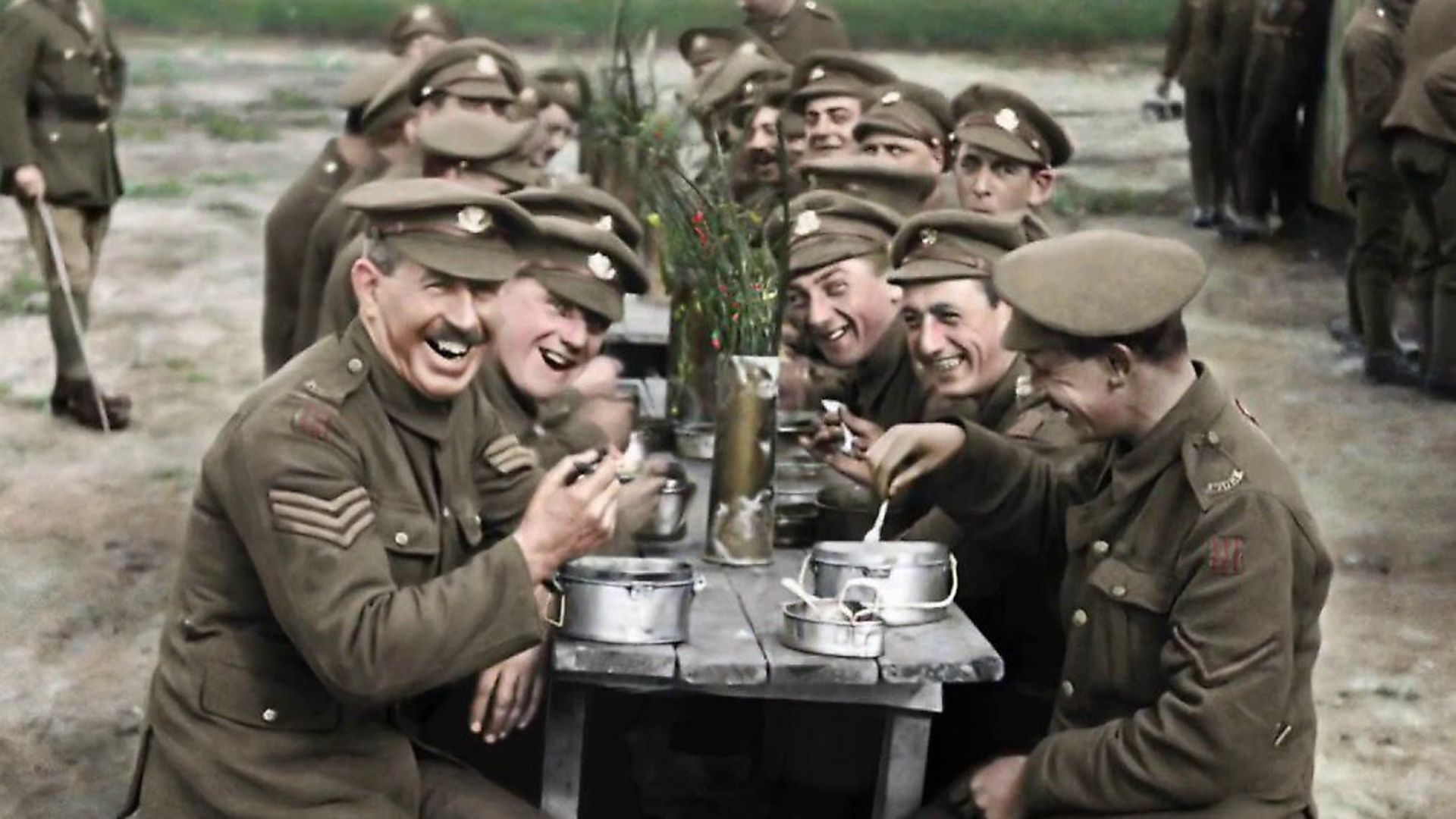 THEY SHALL NOT GROW OLD. A colourised image from Peter Jackson's film. Photo: Contributed - Credit: Contributed