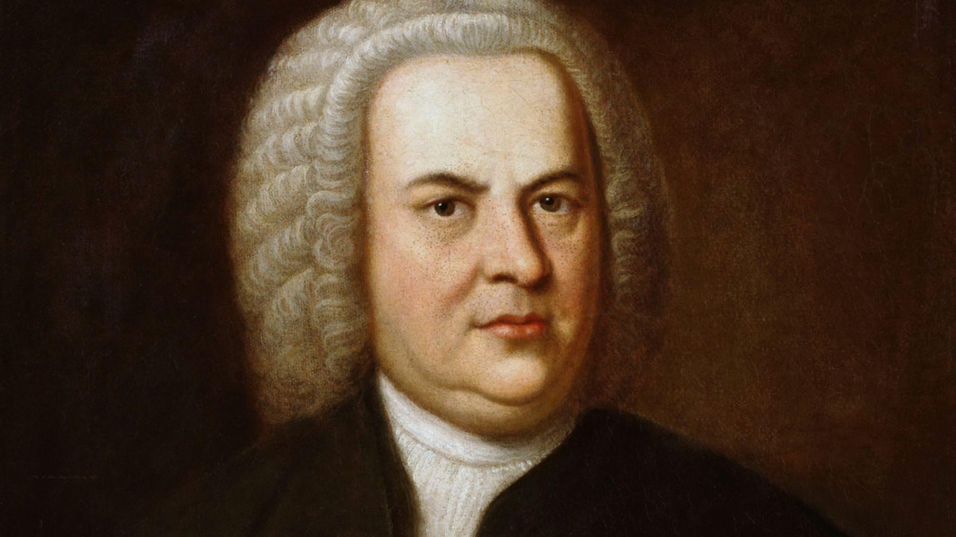 Portrait of Johann Sebastian Bach - Credit: Getty Images