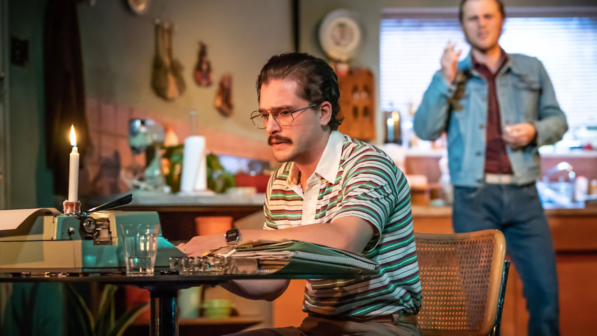FAINTLY SURREAL: Kit Harrington and Johnny Flynn in True West - Credit: Archant