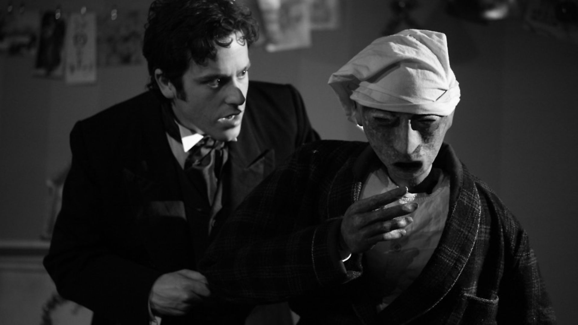 Dominic Gerrard in A Christmas Carol at the Charles Dickens Museum. - Credit: Archant